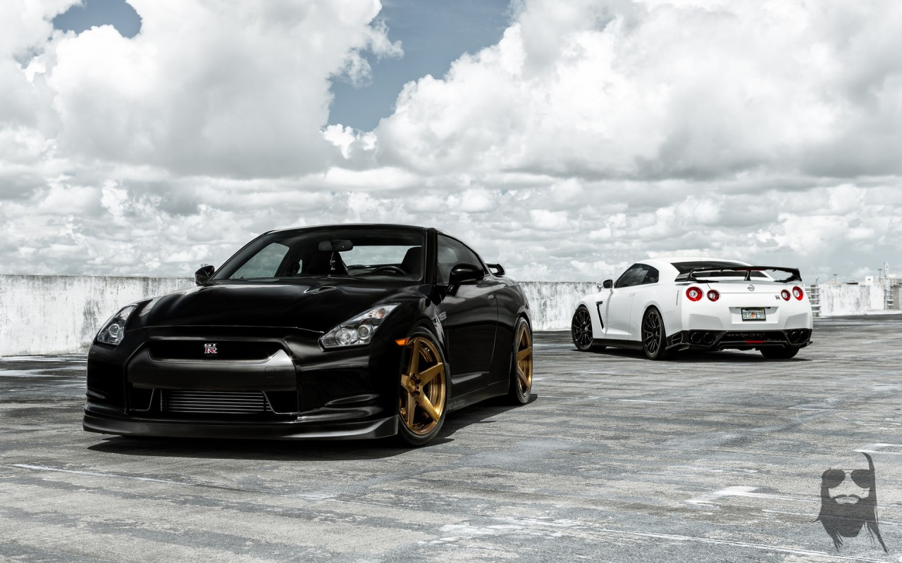 Nissan GT R Duo Wallpaper | HD Car Wallpapers | ID #5537