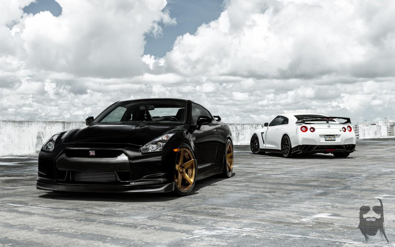 Nissan Gt R Duo Wallpaper Hd Car Wallpapers Id 5537