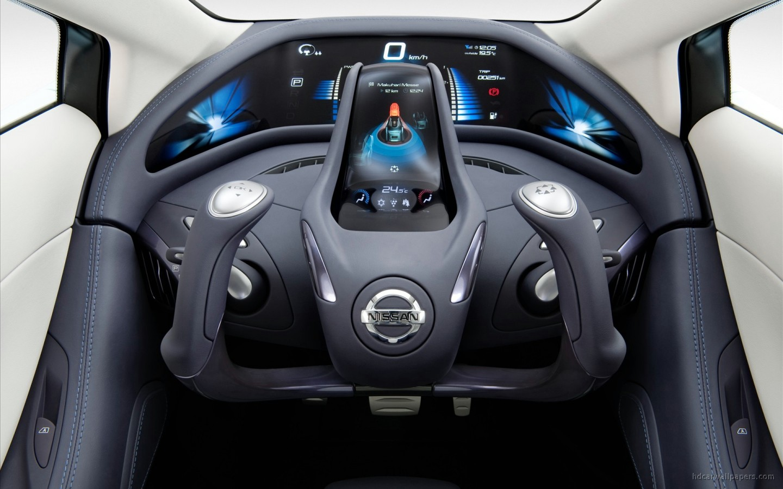 Nissan Land Glider Concept Interior Wallpaper Hd Car