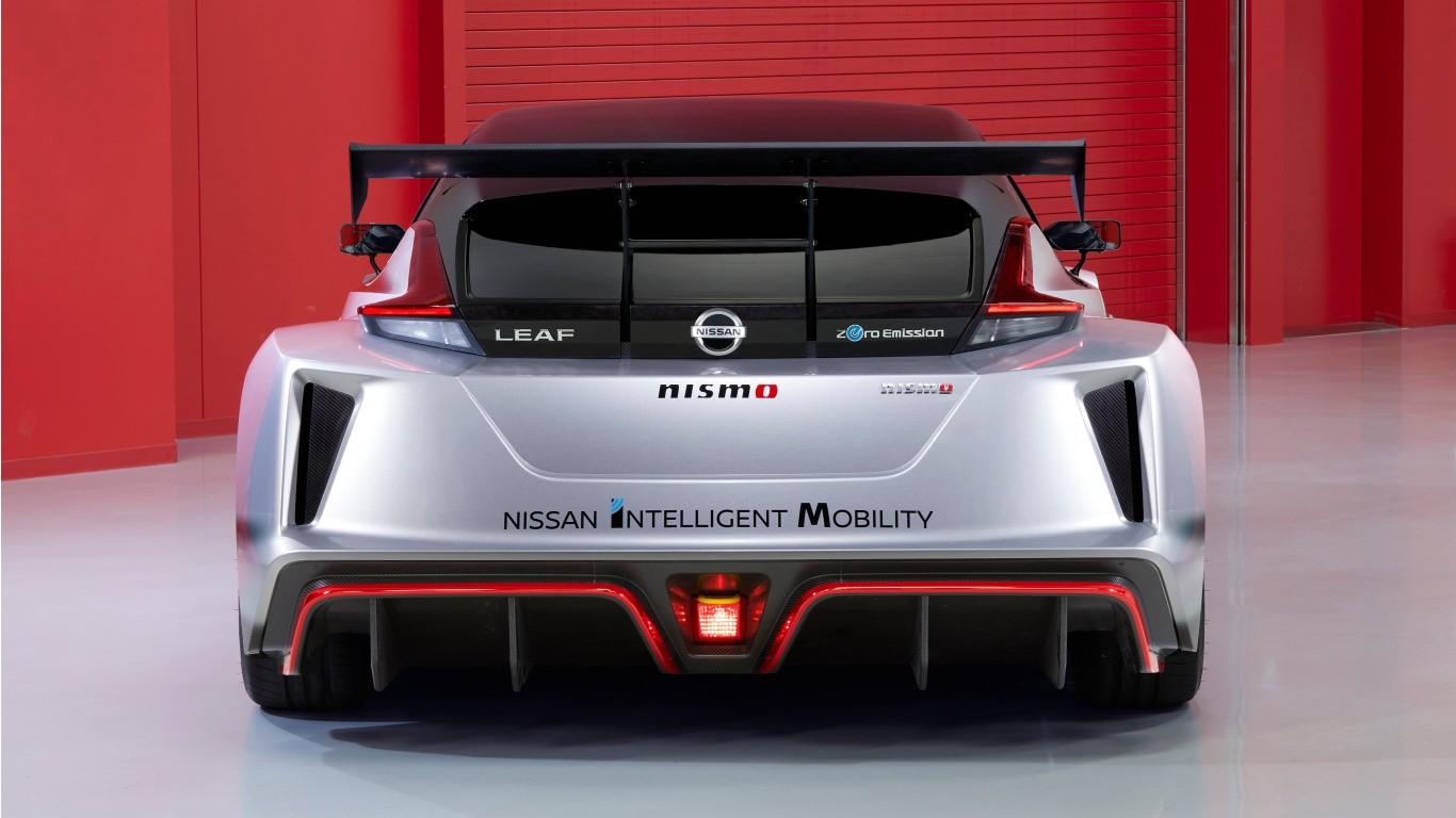 Nissan Leaf Nismo Rc 2019 4k 2 Wallpaper Hd Car