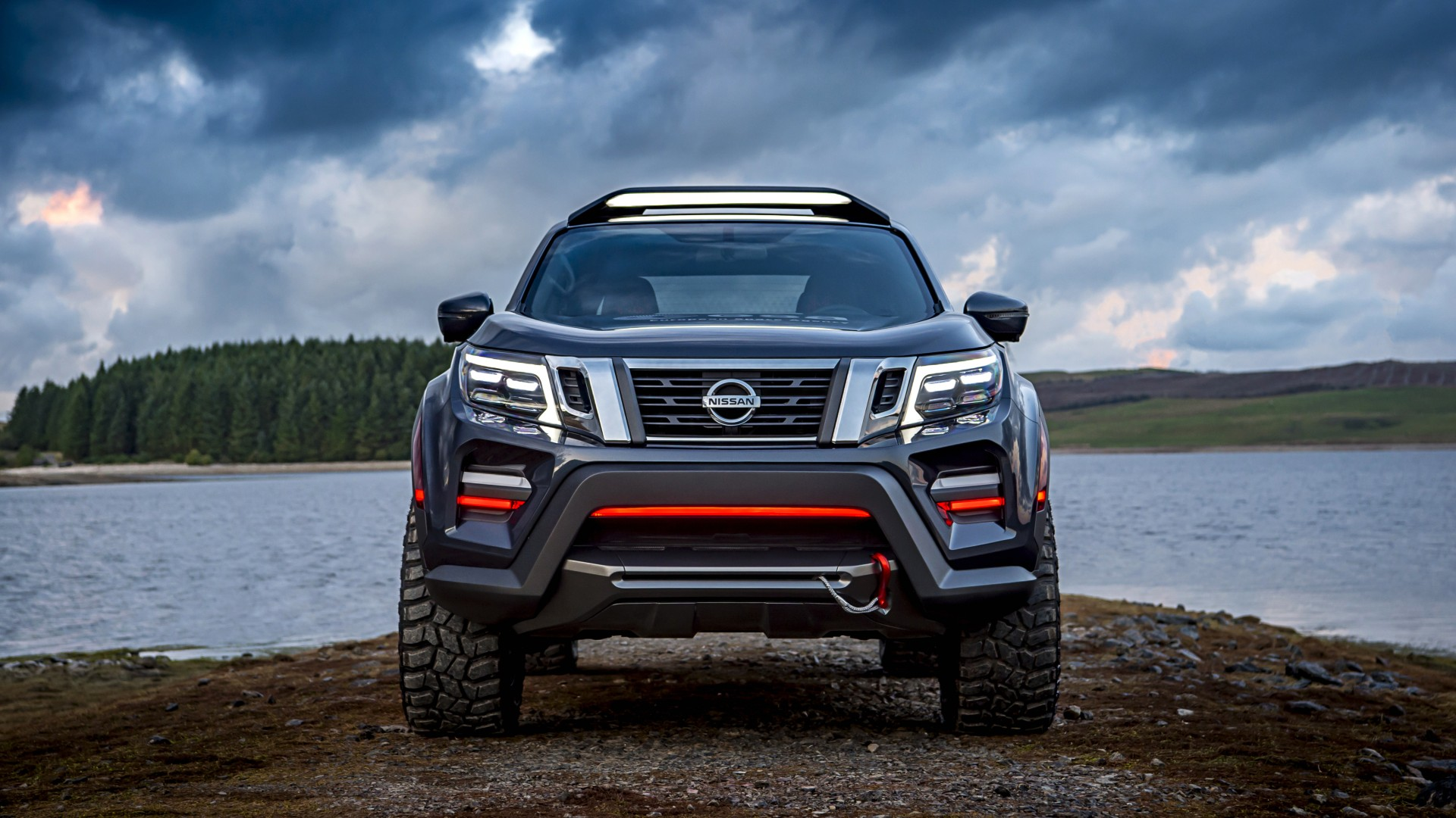 Nissan Navara Dark Sky Concept 2018 4K 2 Wallpaper | HD ...