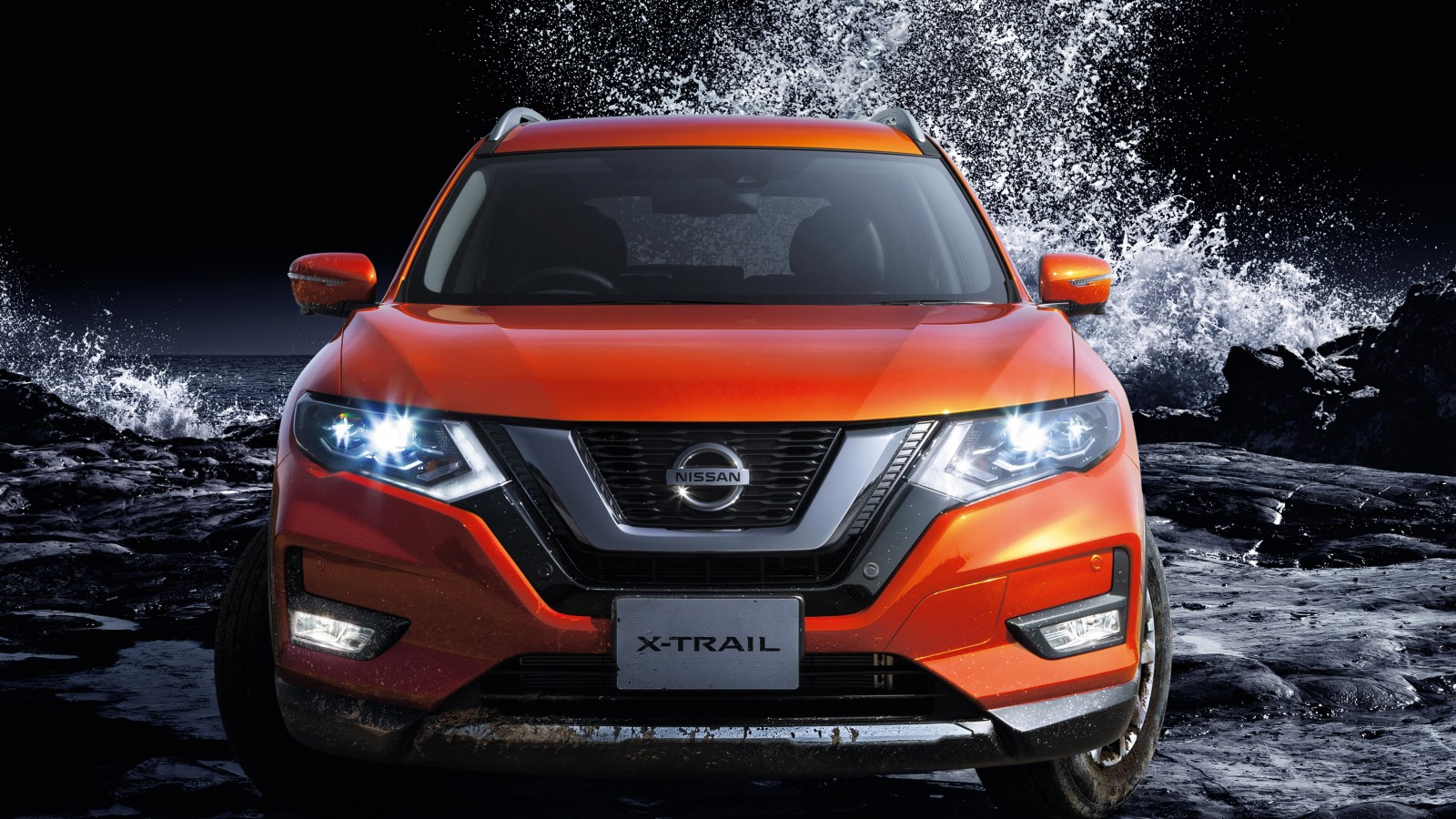 nissan x trail hybrid 2017 4k wallpaper hd car wallpapers id 7832. Black Bedroom Furniture Sets. Home Design Ideas