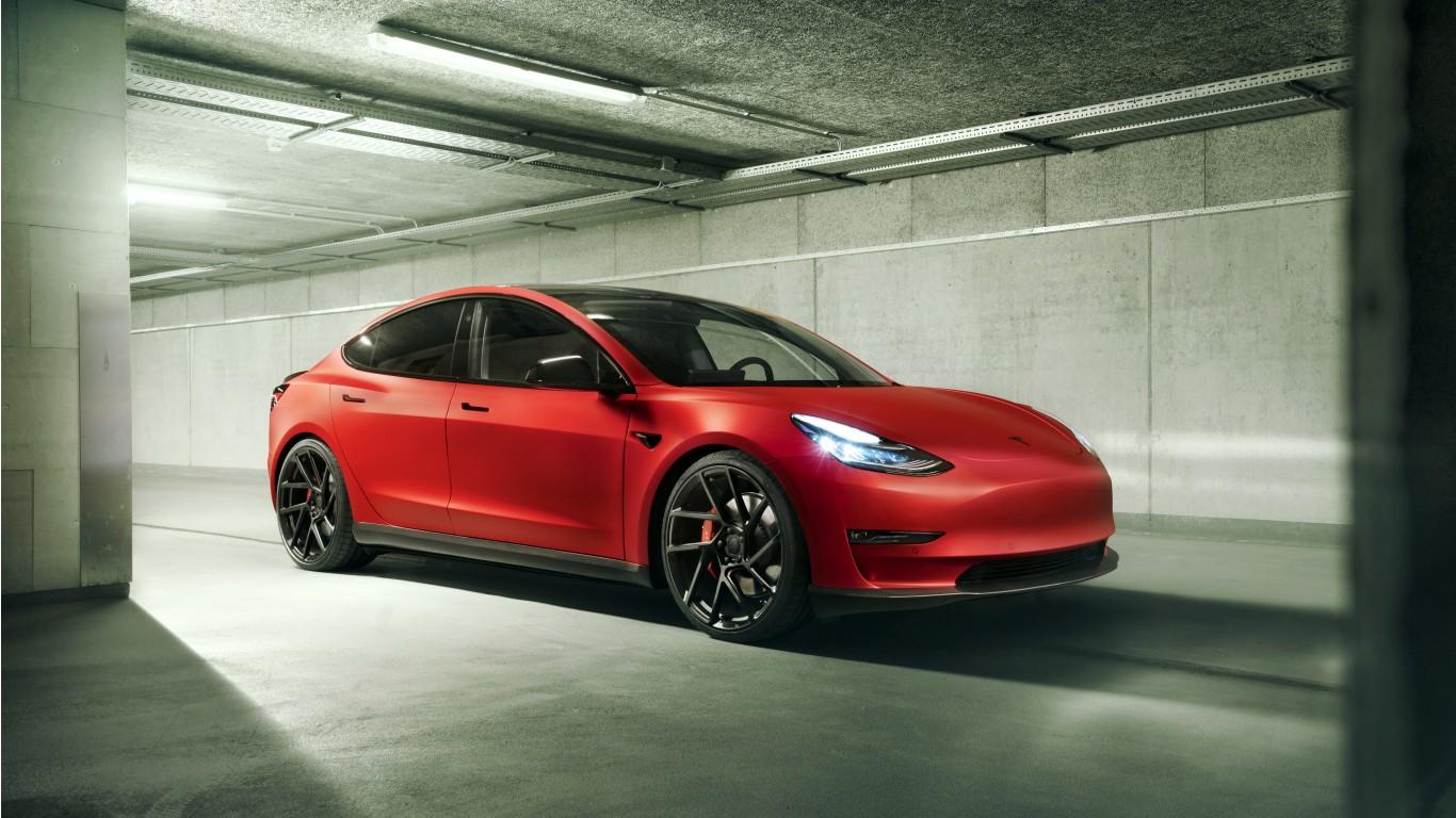 Novitec Tesla Model 3 2019 4k Wallpaper Hd Car
