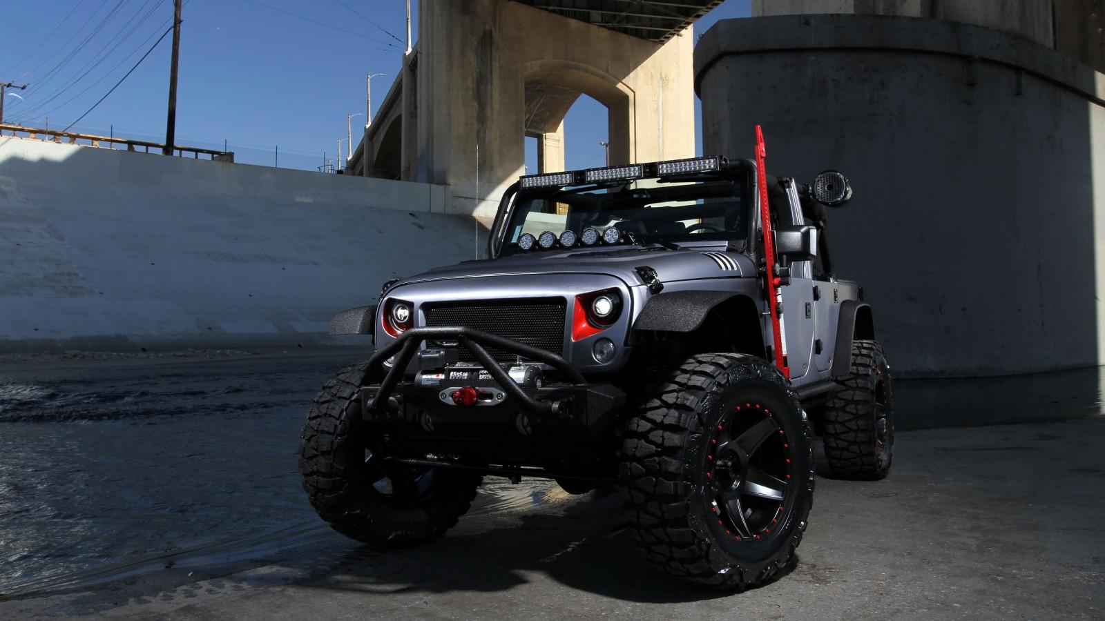 Omix ADA Jeep Wrangler 4K Wallpaper | HD Car Wallpapers ...