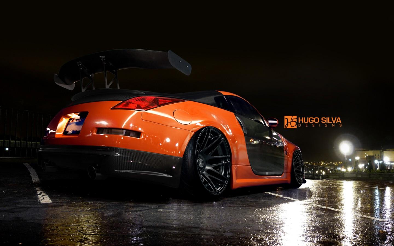 Orange Nissan 350z Wallpaper HD Car Wallpapers ID 4915
