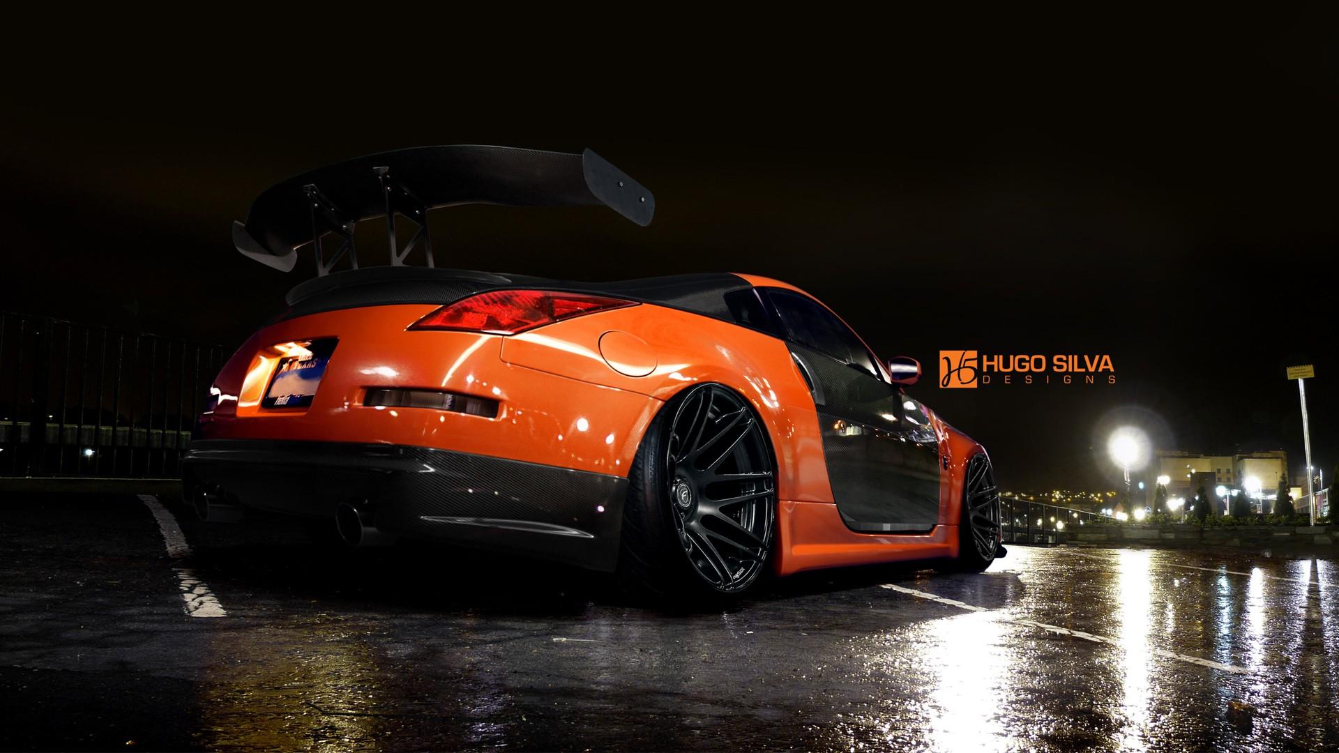 Toyota Of Orange >> Orange Nissan 350z Wallpaper   HD Car Wallpapers   ID #4915