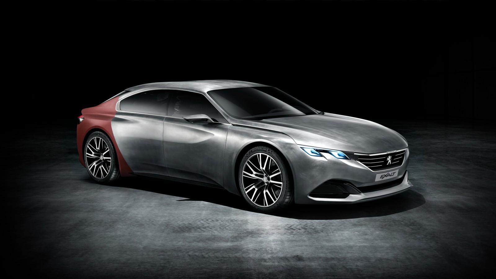 Peugeot Exalt Concept 4K Wallpaper