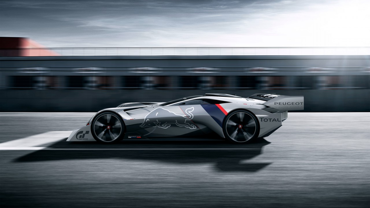 Peugeot L750 R Hybrid Vision Gran Turismo 4K 2 Wallpaper