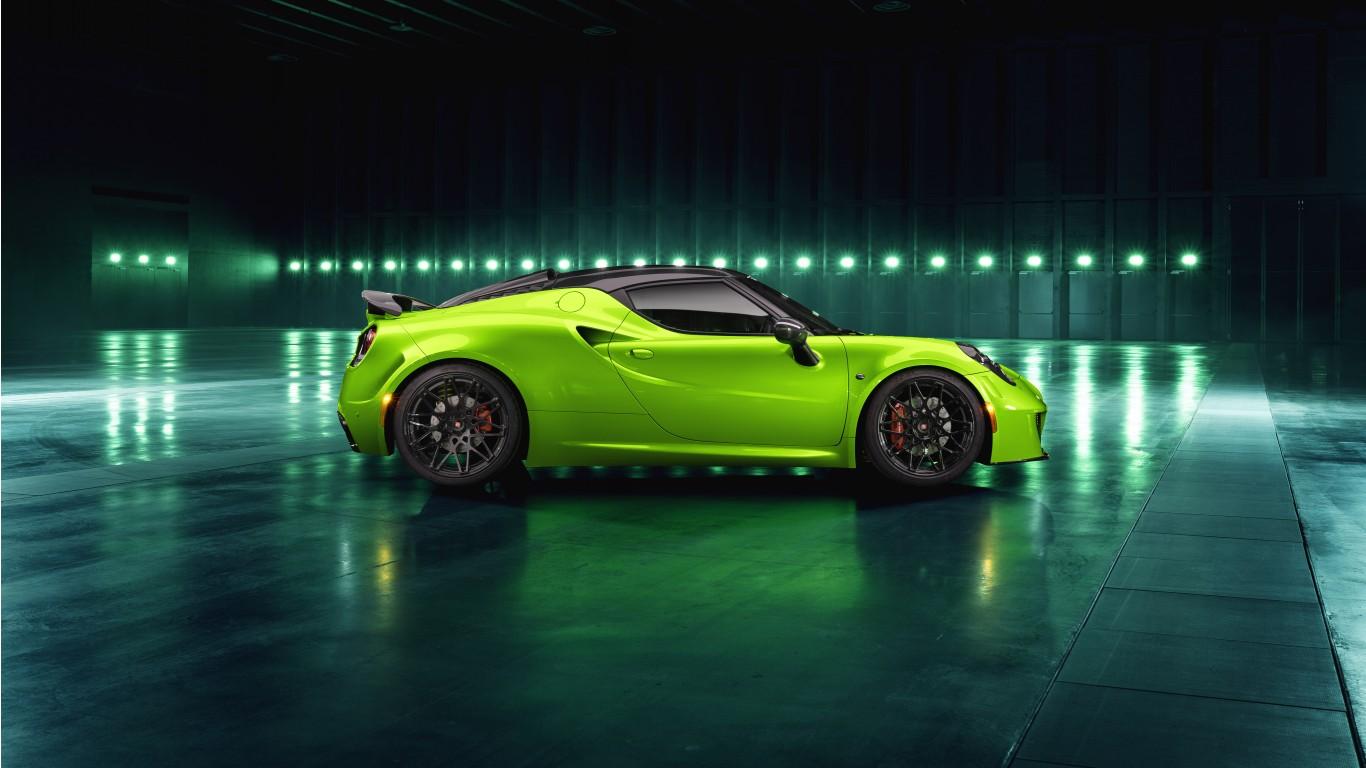 Alfa Romeo 4C >> Pogea Racing Alfa Romeo 4C Centurion Green Arrow 2018 4K 5 ...