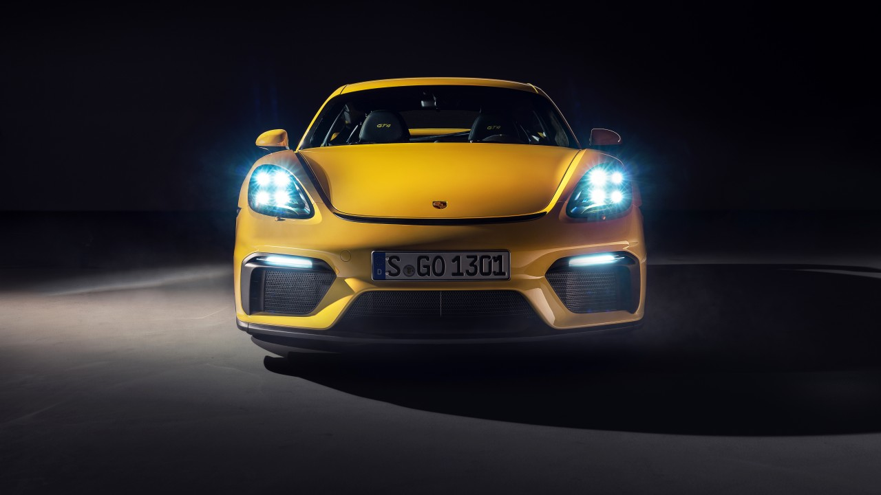 Porsche 718 Cayman GT4 2019 4K 8K Wallpaper | HD Car