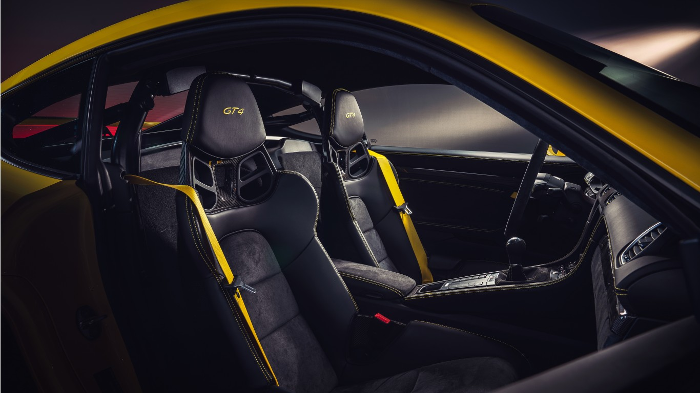 Cayman Gt4 Rs >> Porsche 718 Cayman GT4 2019 4K Interior Wallpaper | HD Car ...