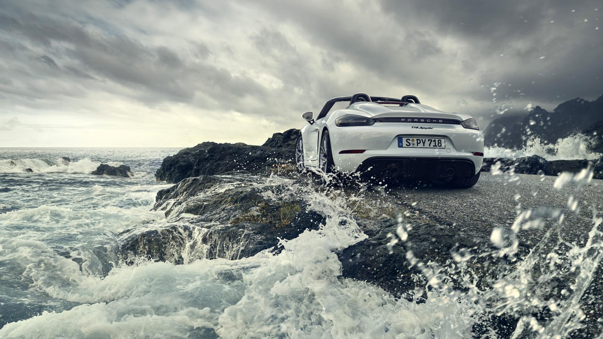Porsche 718 Spyder 2019 4K 2 Wallpaper | HD Car Wallpapers ...