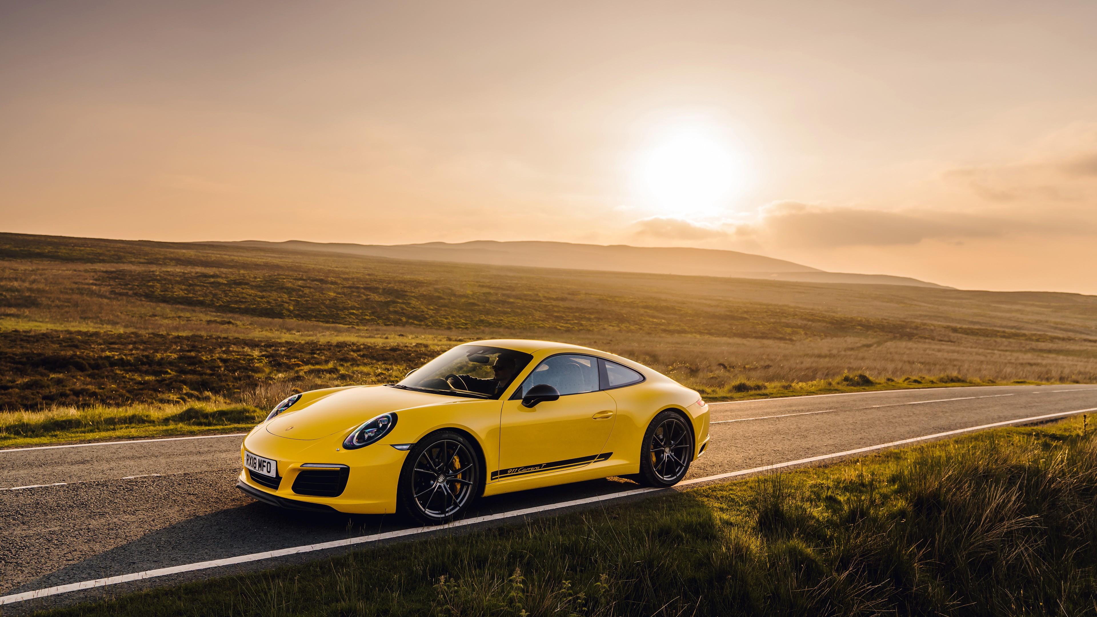 Porsche 911 Carrera T Coupe 2018 4k Wallpaper Hd Car Wallpapers Id 10902 Porsche 911 carrera t coupe 2018 4k
