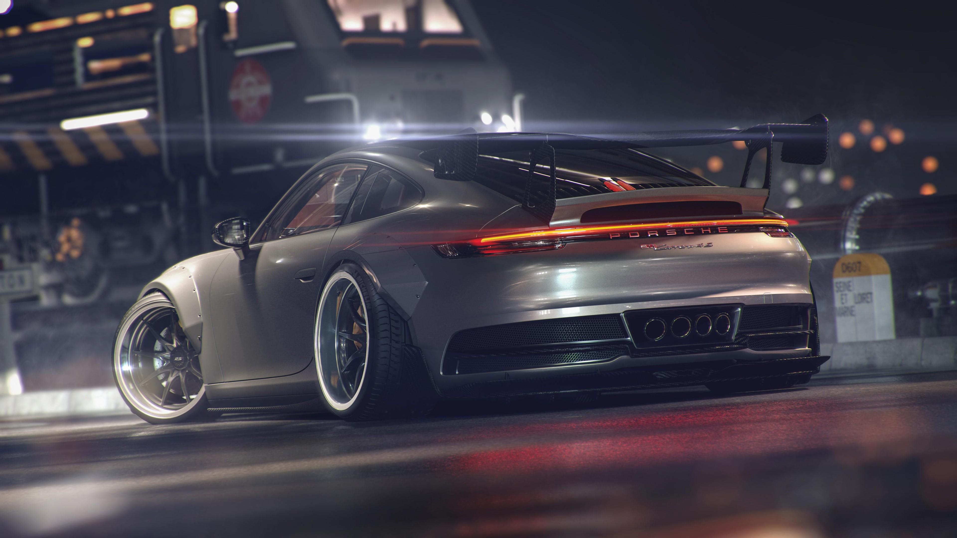 Porsche 911 GT 4K 4 Wallpaper