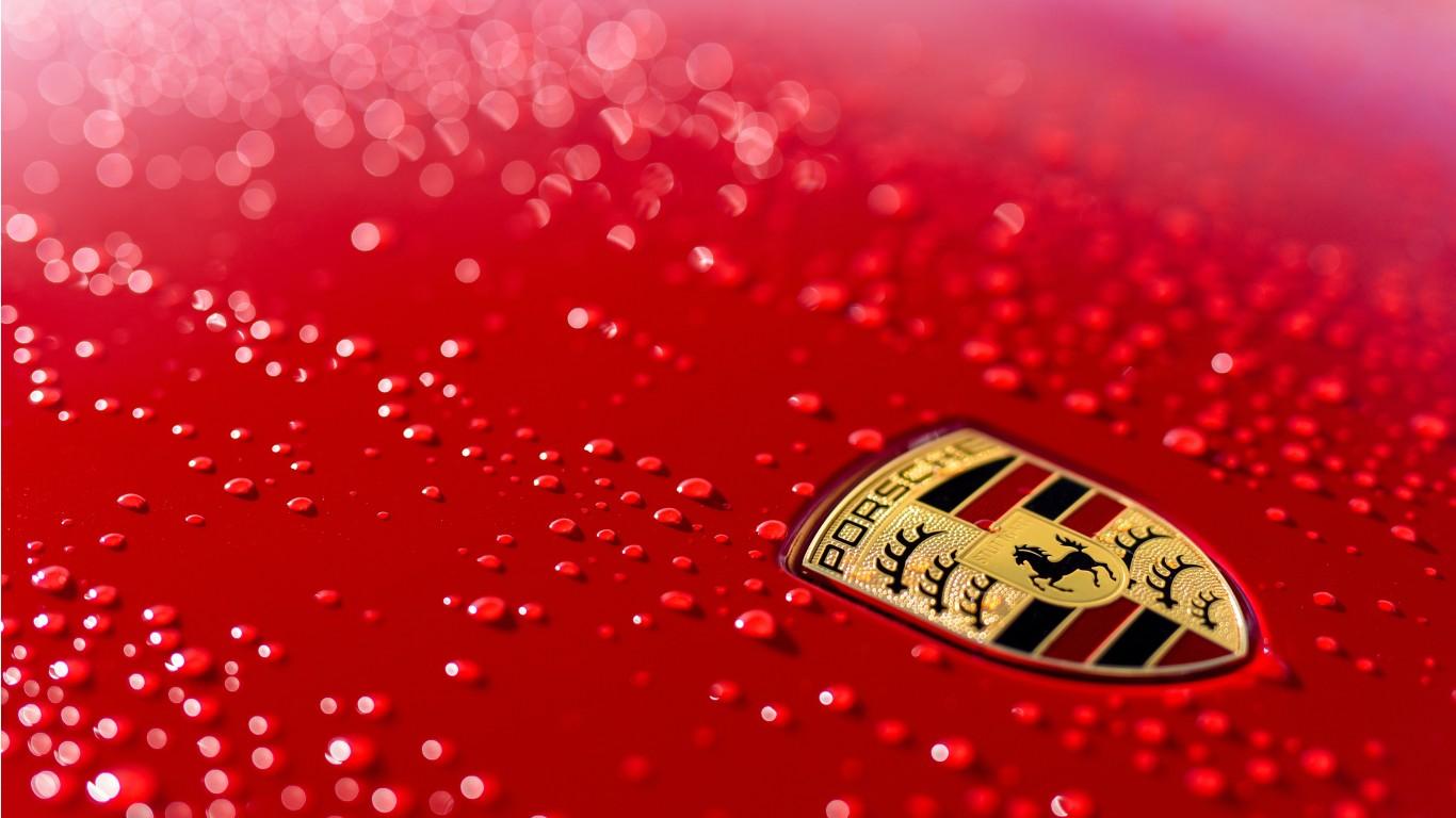 Porsche 911 Logo 4k Wallpaper Hd Car Wallpapers Id 9234
