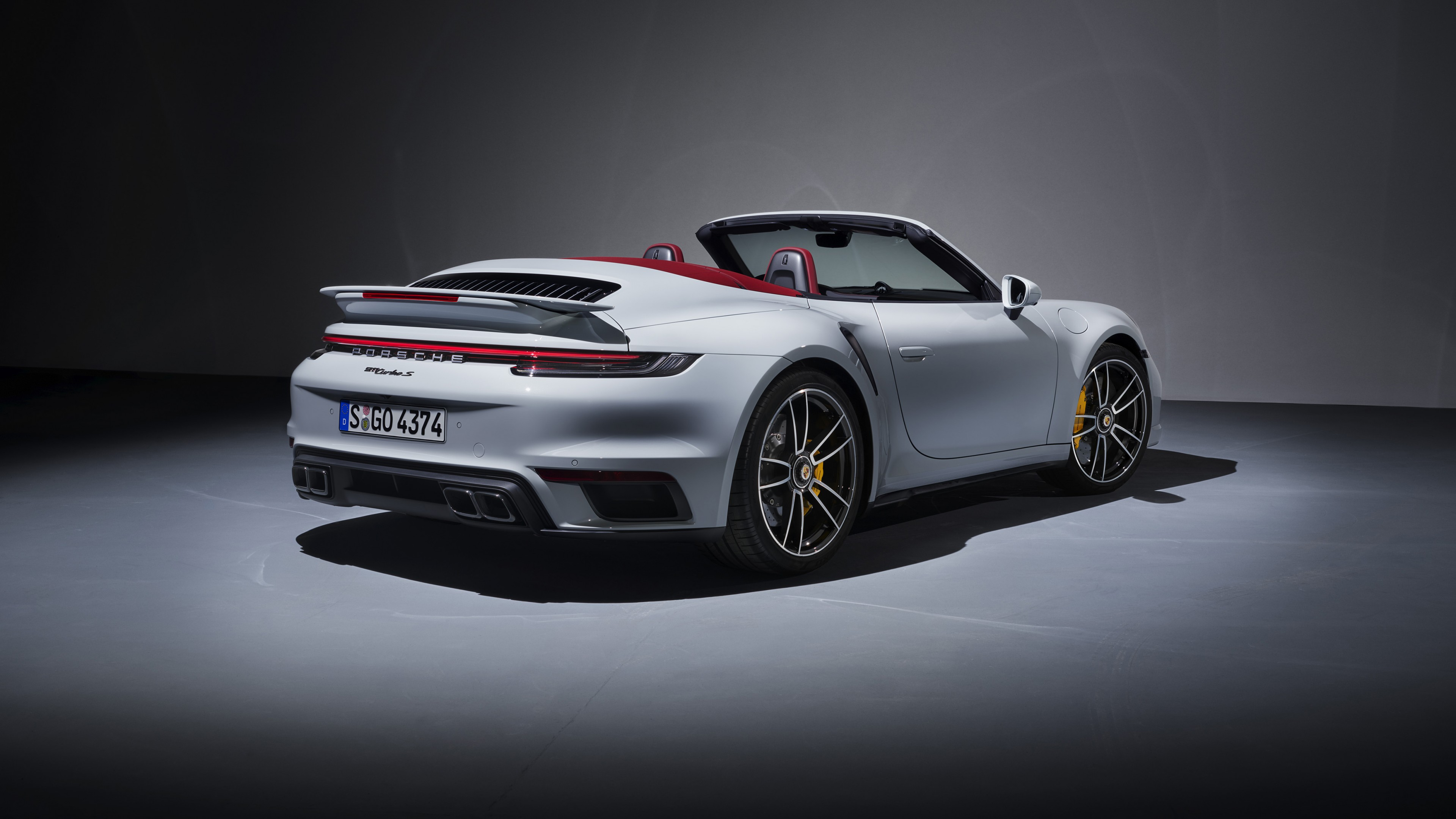 Porsche 911 Turbo S Cabriolet 2020 4k 2 Wallpaper Hd Car Wallpapers Id 14595
