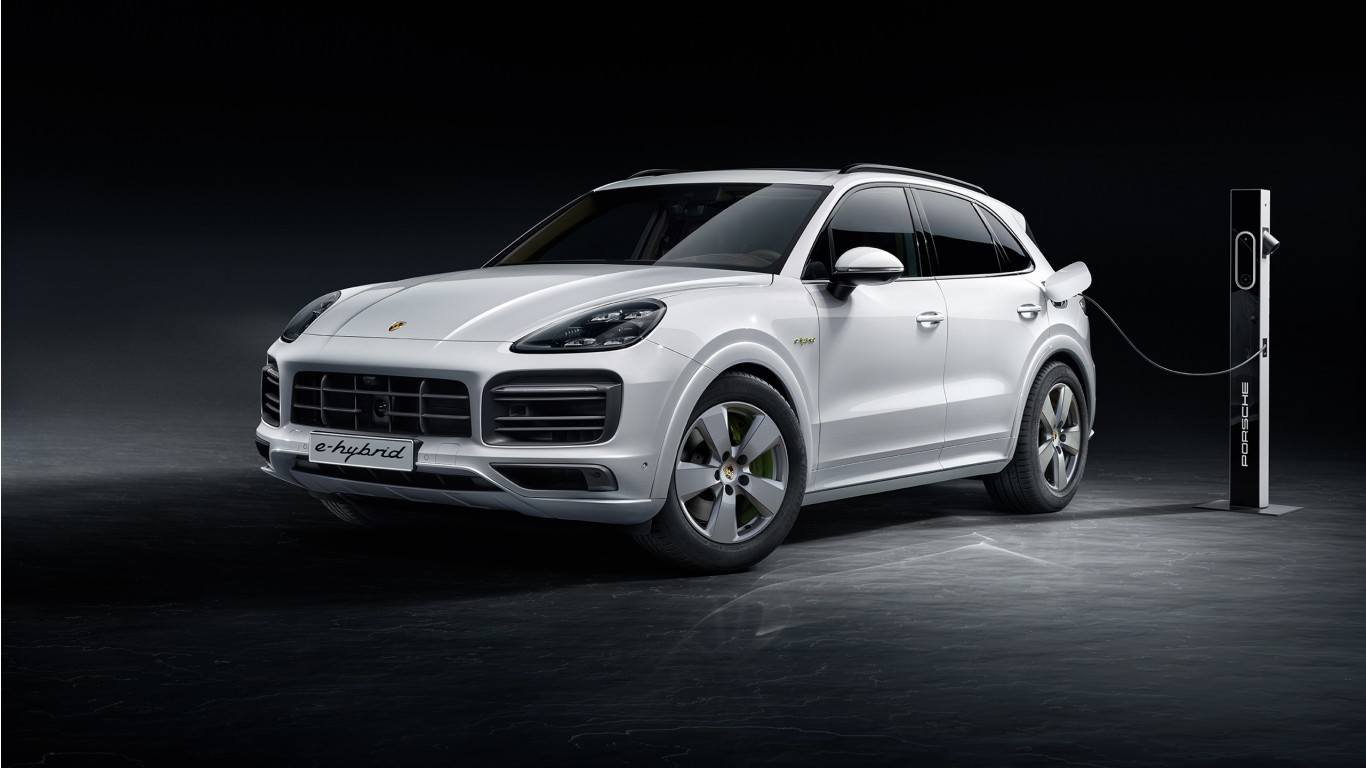 Porsche Cayenne E-Hybrid 2018 Wallpaper | HD Car ...