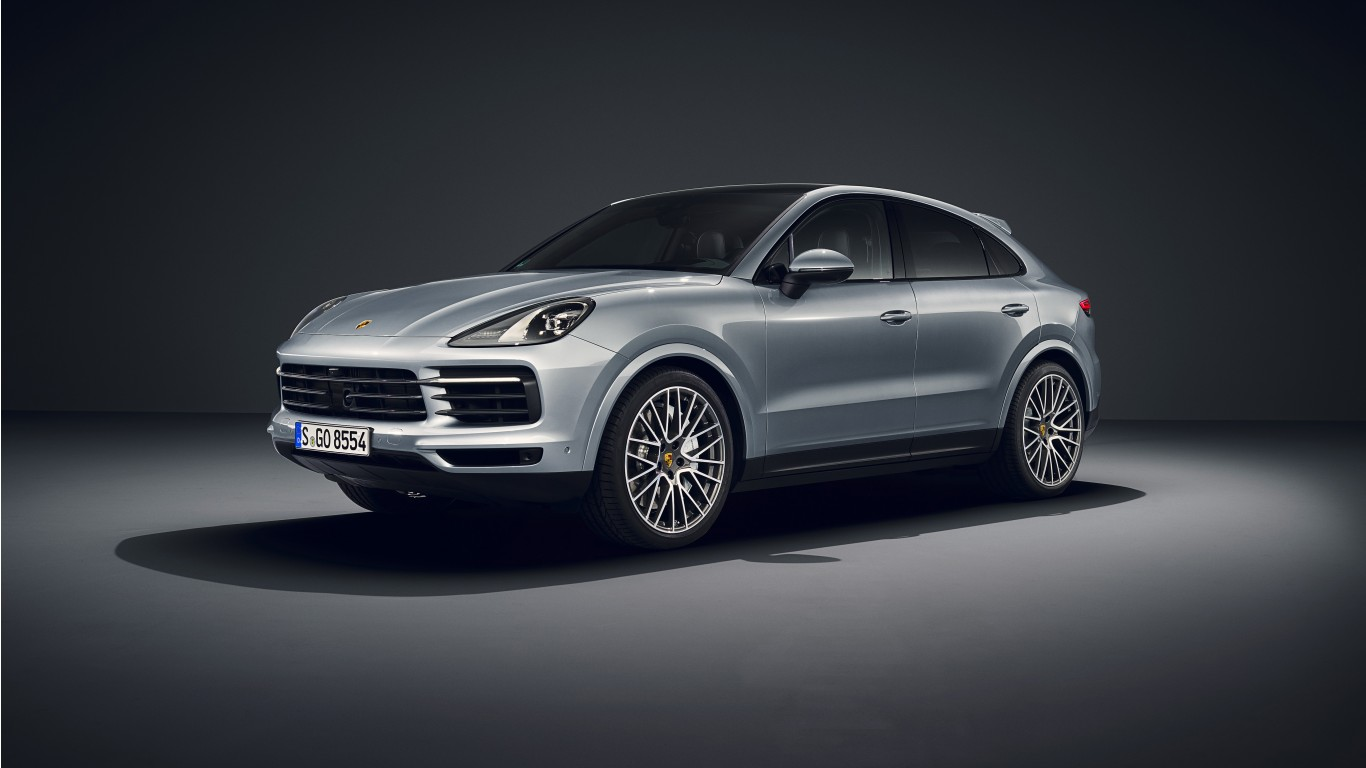 Porsche Cayenne S Coupe 2019 5k Wallpaper Hd Car