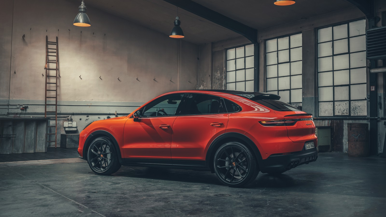 Porsche Cayenne Turbo Coupe 2019 4K 2 Wallpaper | HD Car Wallpapers | ID #12332
