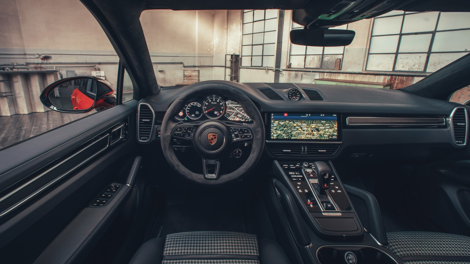 Porsche Cayenne Turbo Coupe 2019 4K Interior Wallpaper ...