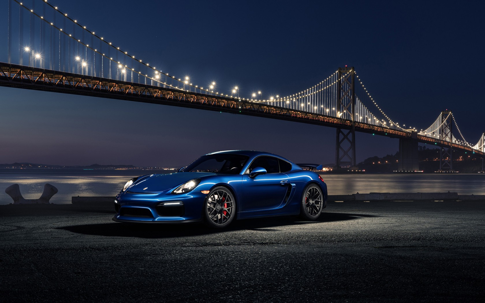 Porsche Cayman GT4 Avant Garde Wheels Wallpaper