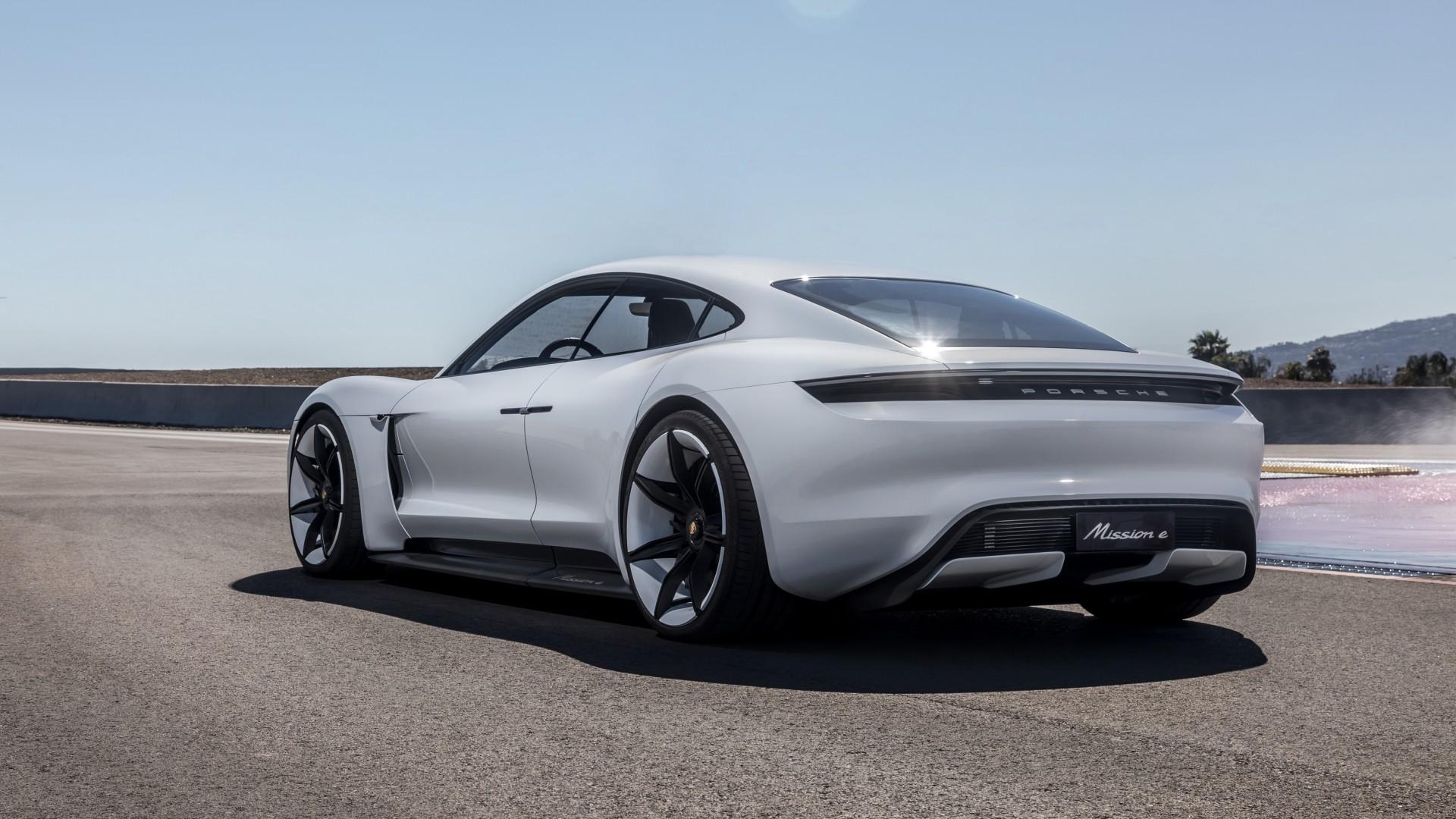 Porsche Mission E Concept 4k Wallpaper Hd Car Wallpapers