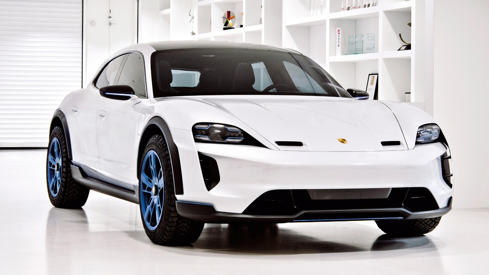 Porsche Mission E Cross Turismo 2018 4k Wallpaper Hd Car