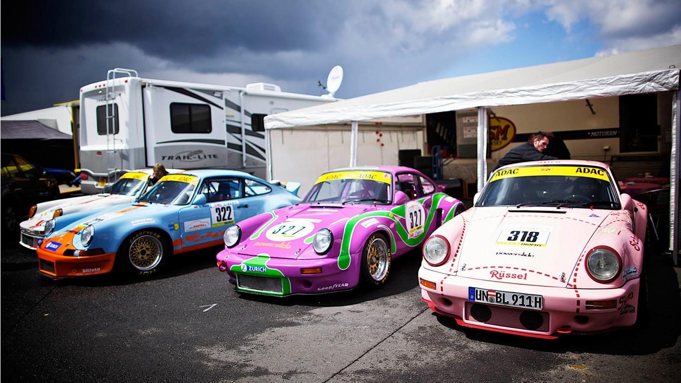 Cars Wallpapers: Porsche Vintage Cars Wallpaper