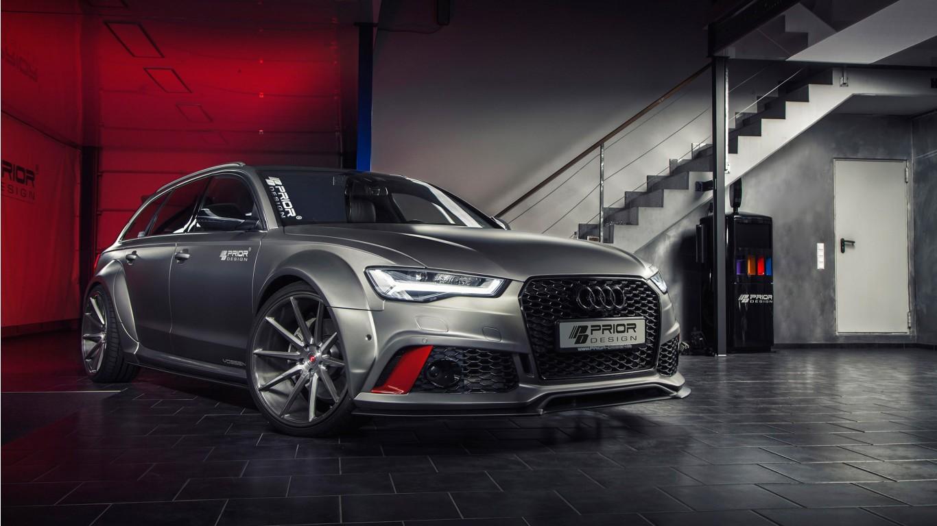 Prior Design Audi A6 RS6 Avant Wallpaper | HD Car ...
