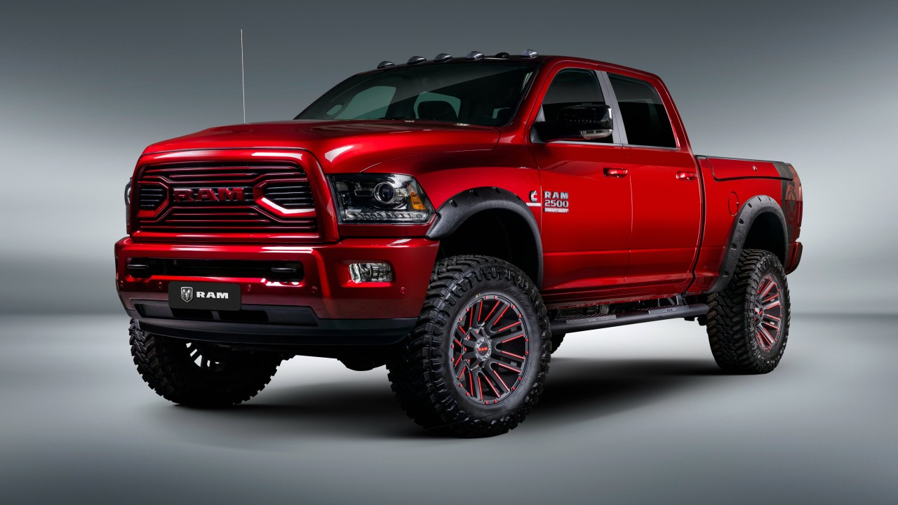 Ram 2500 By Apache Customz Trucks 2018 4K Wallpaper