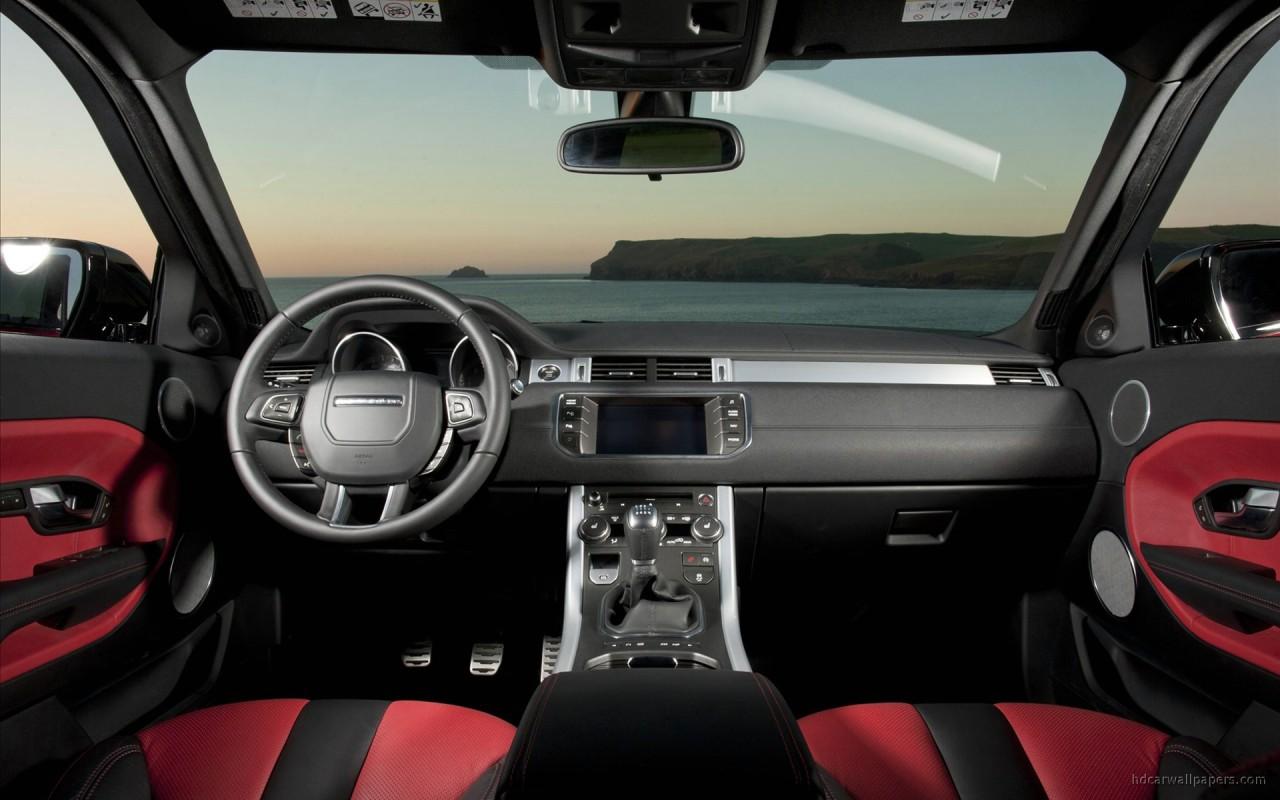 range rover evoque 5 door interior wallpaper in 1280x800 resolution. Black Bedroom Furniture Sets. Home Design Ideas