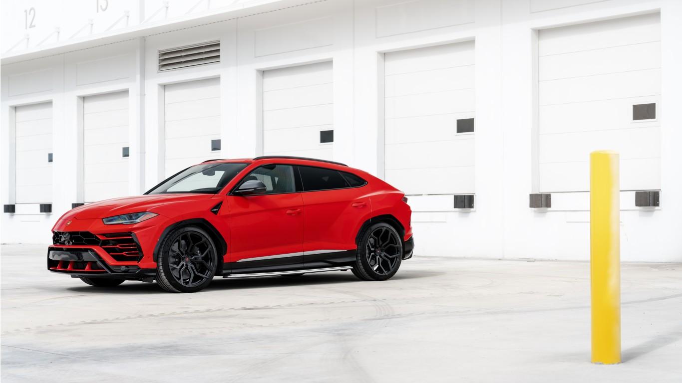 Red Lamborghini Urus 2019 4K 8K Wallpaper | HD Car ...