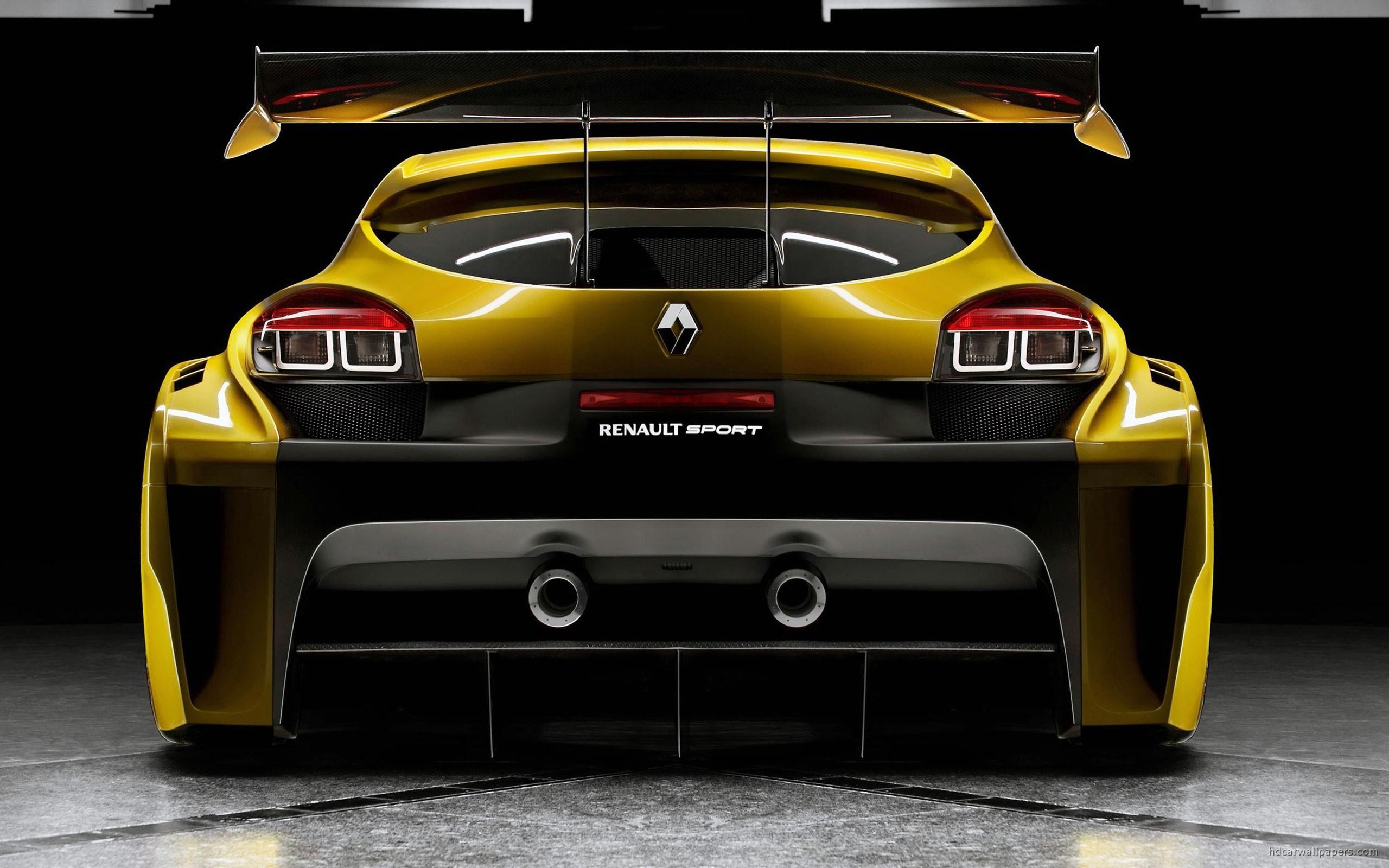 Renault Megane Trophy Back Wallpaper   HD Car Wallpapers