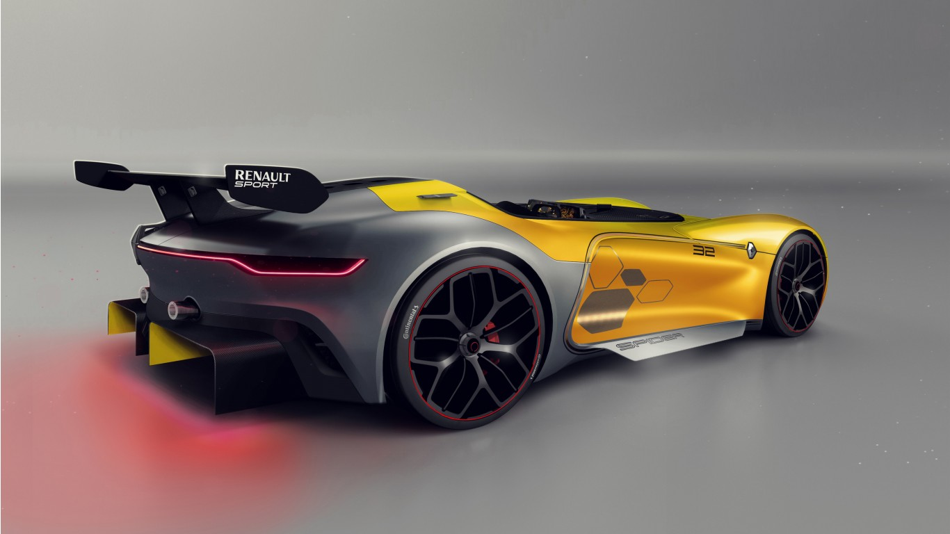 Image [ 3 of 48 ] - Renault Spider Rear View 4k Wallpaper Hd Car ...