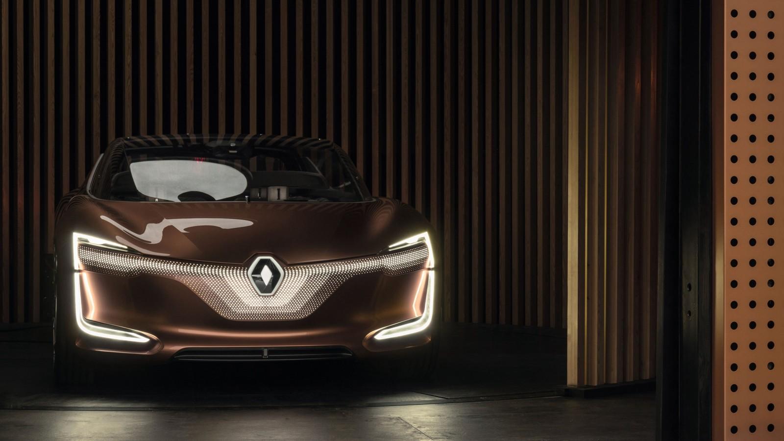 Renault Symbioz Autonomous Electric Car 4K 2 Wallpaper