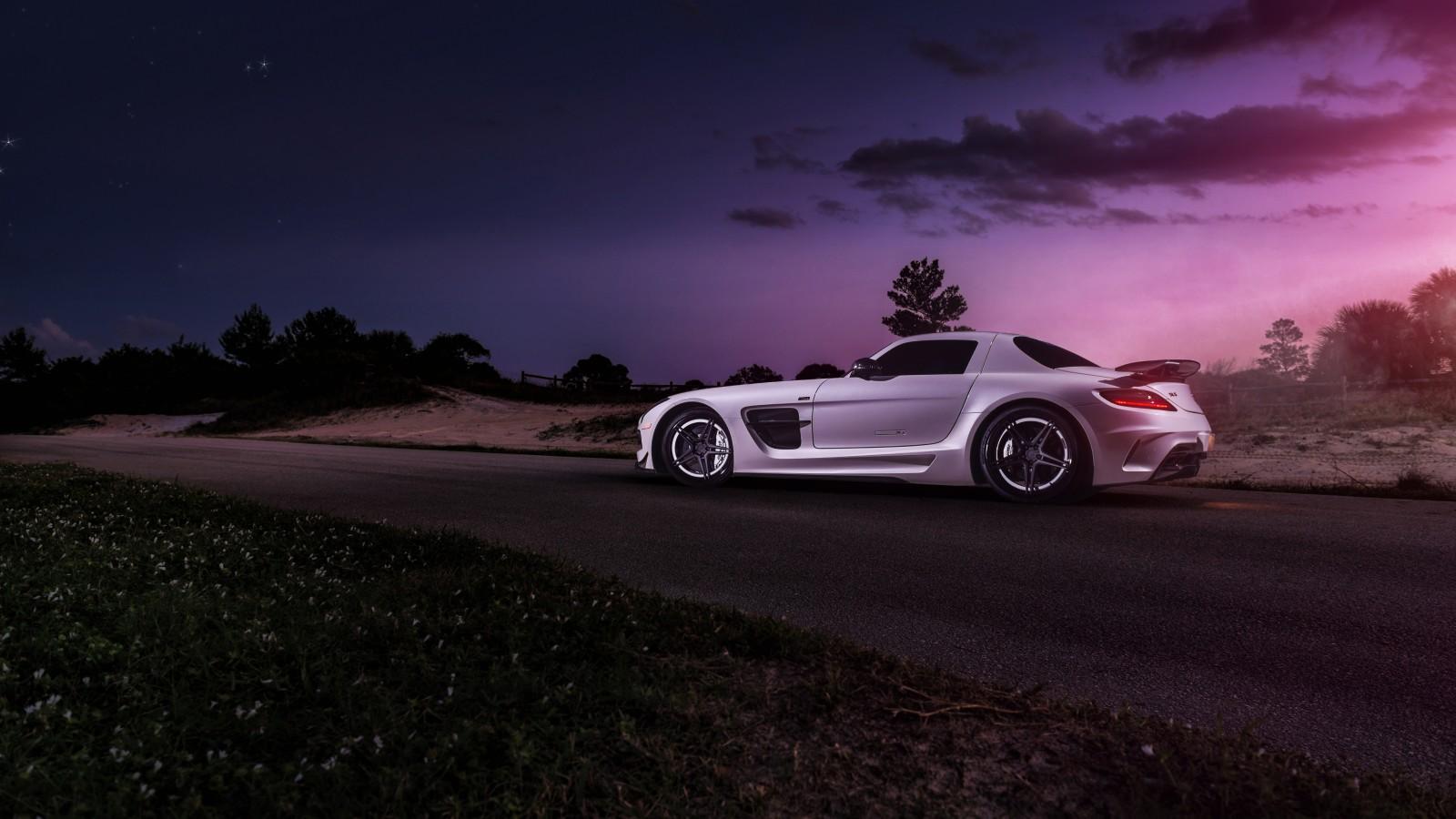 Mercedes Benz Amg Gt >> Renntech Mercedes-Benz SLS Black Series 4K 2 Wallpaper | HD Car Wallpapers | ID #12412