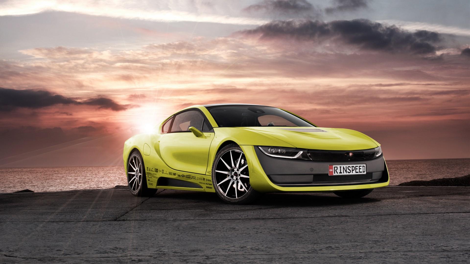 Bmw I8 Car Concept 4k Hd Desktop Wallpaper For 4k Ultra Hd: Rinspeed Etos BMW I8 Concept Wallpaper