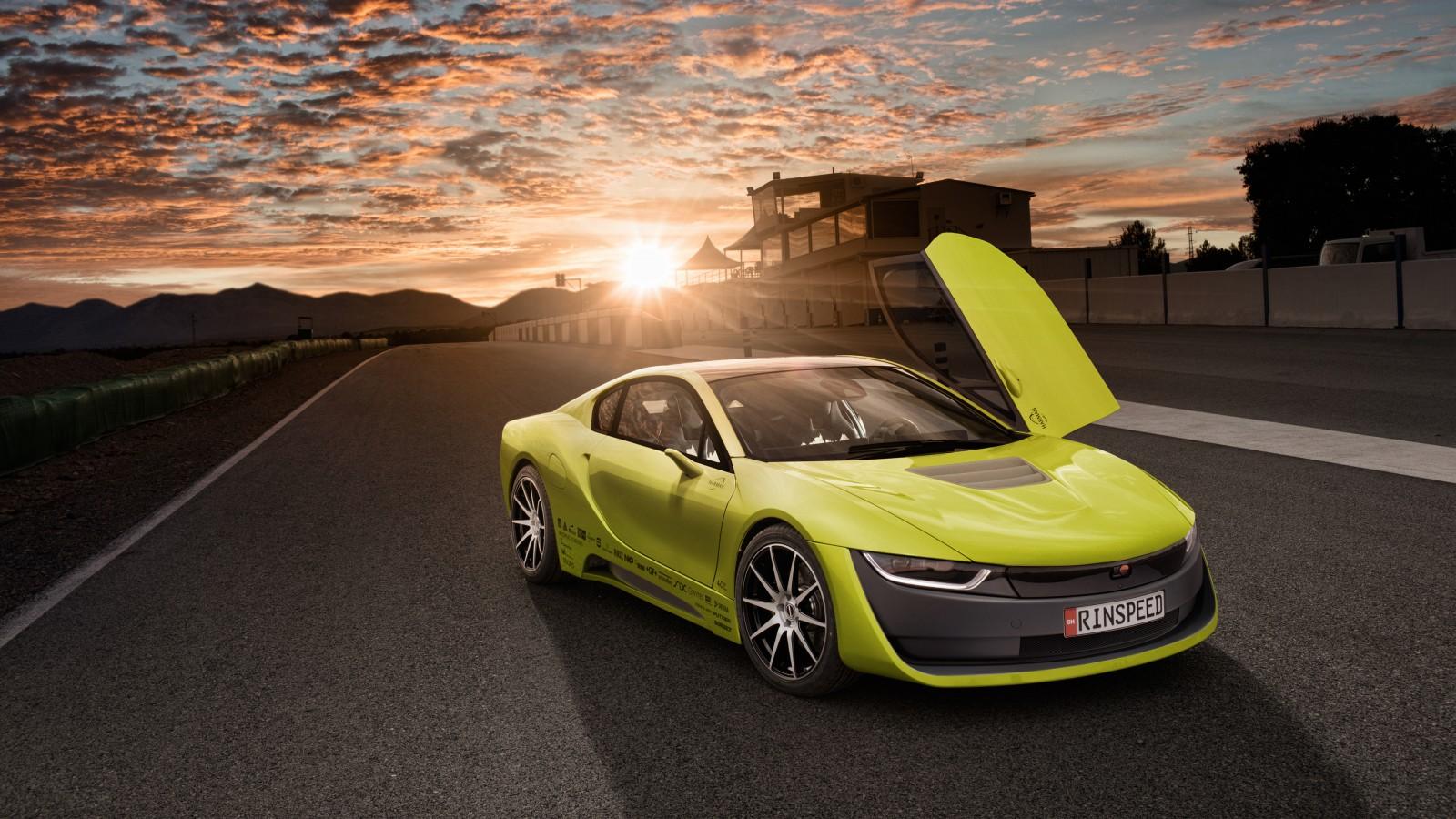 Bmw I8 Car Concept 4k Hd Desktop Wallpaper For 4k Ultra Hd: Rinspeed Etos Concept BMW I8 Self Driving Car Wallpaper