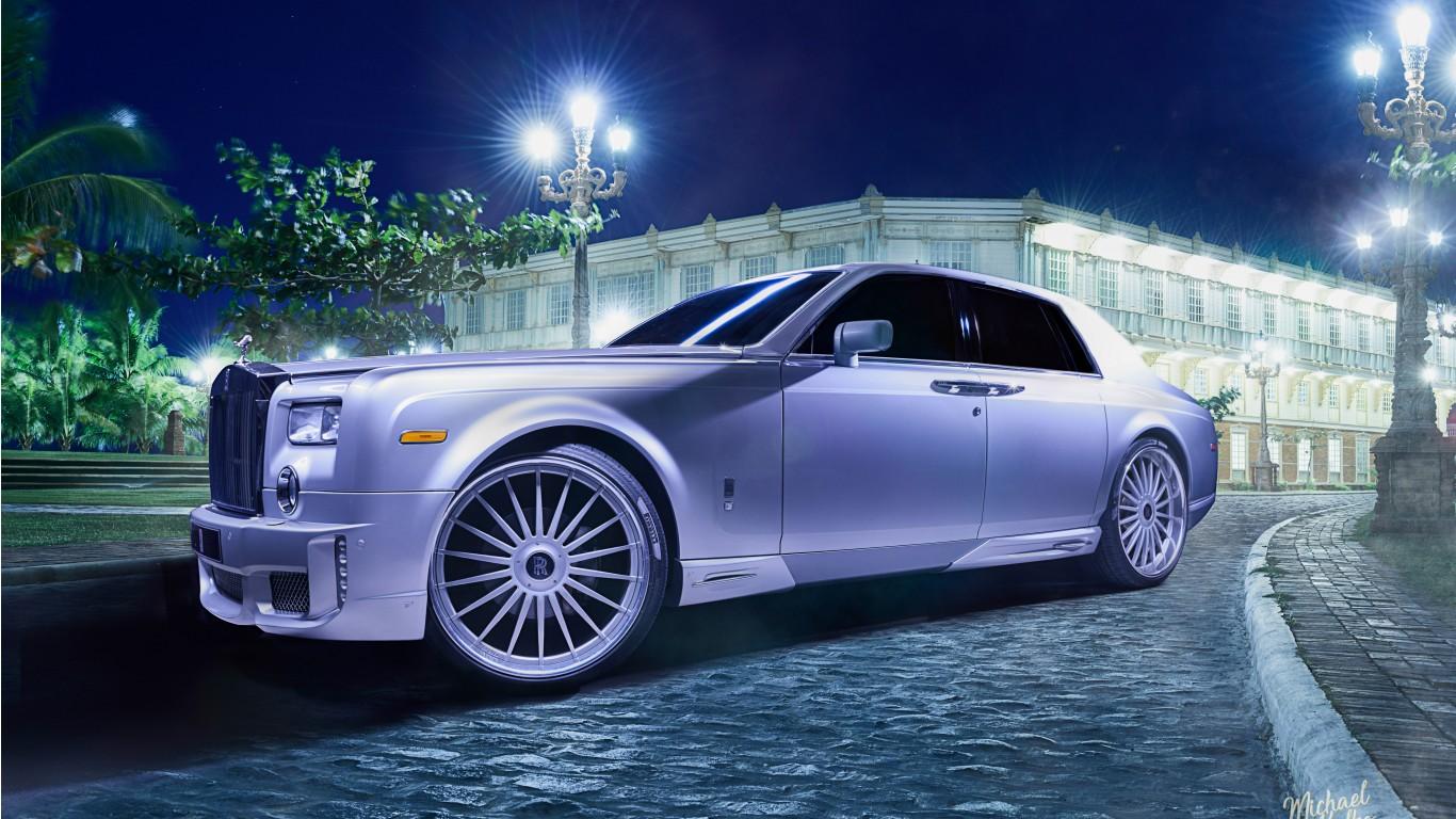 Rolls royce ghost 4k 8k wallpaper hd car wallpapers id - Rolls royce wallpaper download ...