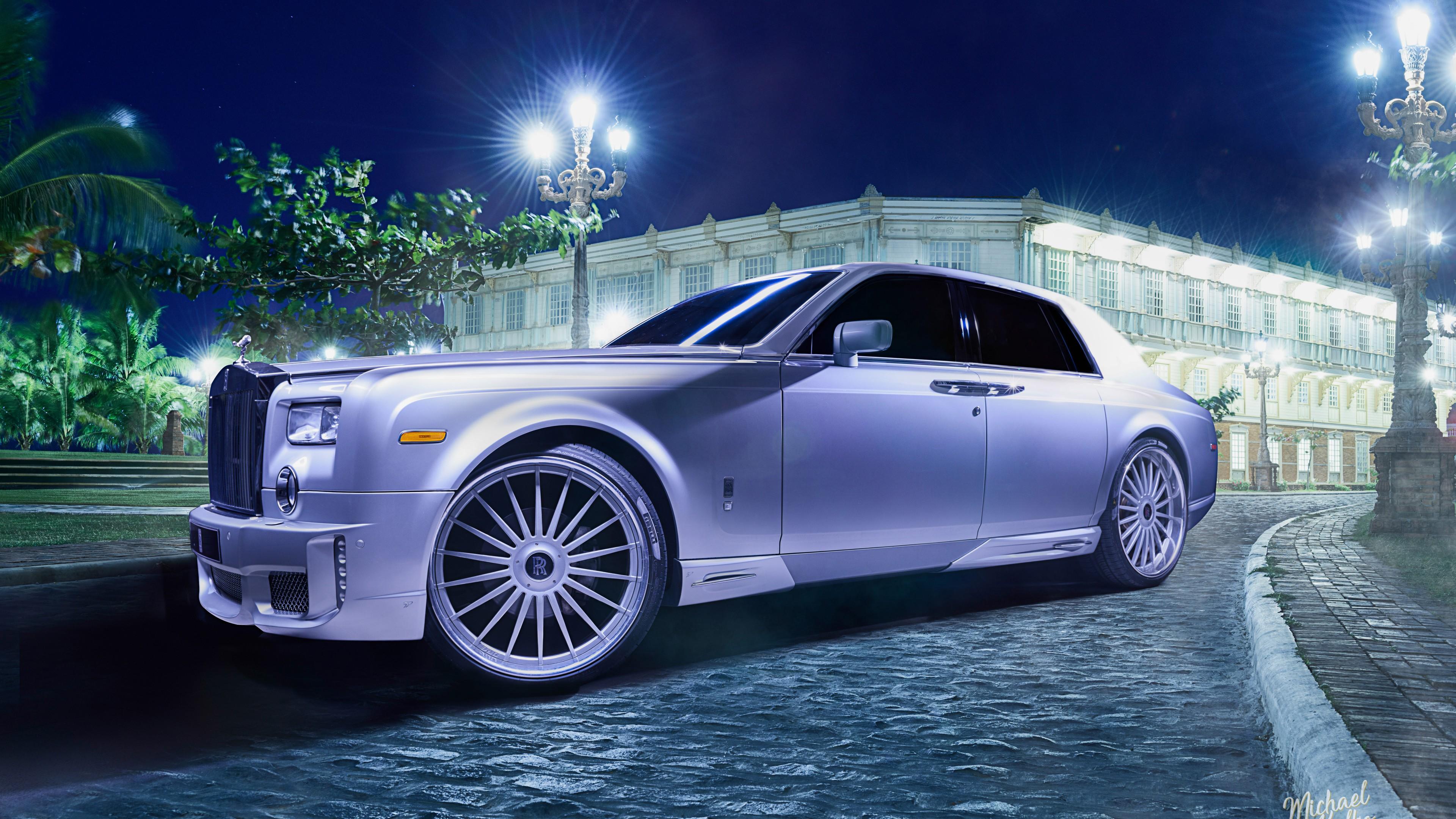 Eight Rolls Of Four Free Fire Wallpaper: Rolls-Royce Ghost 4K 8K Wallpaper