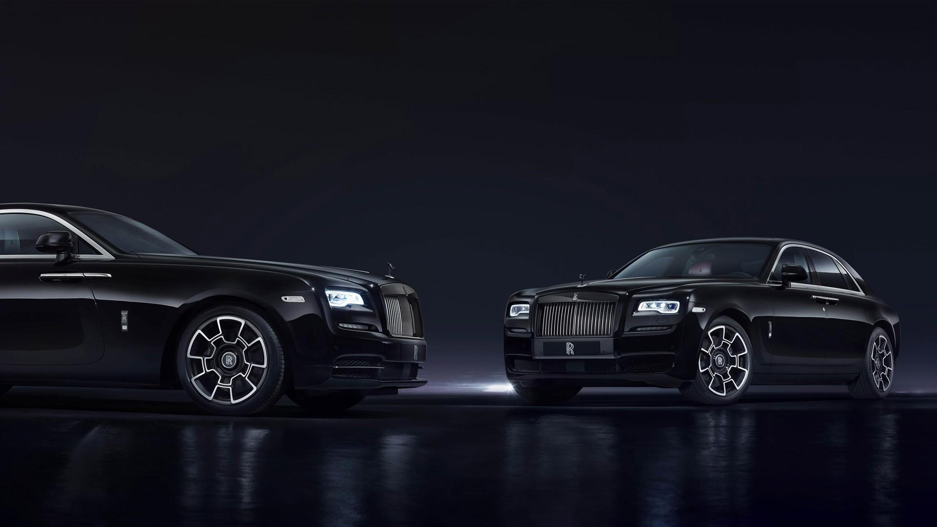 Rolls Royce Ghost Wraith Black Badge 2016 Wallpaper