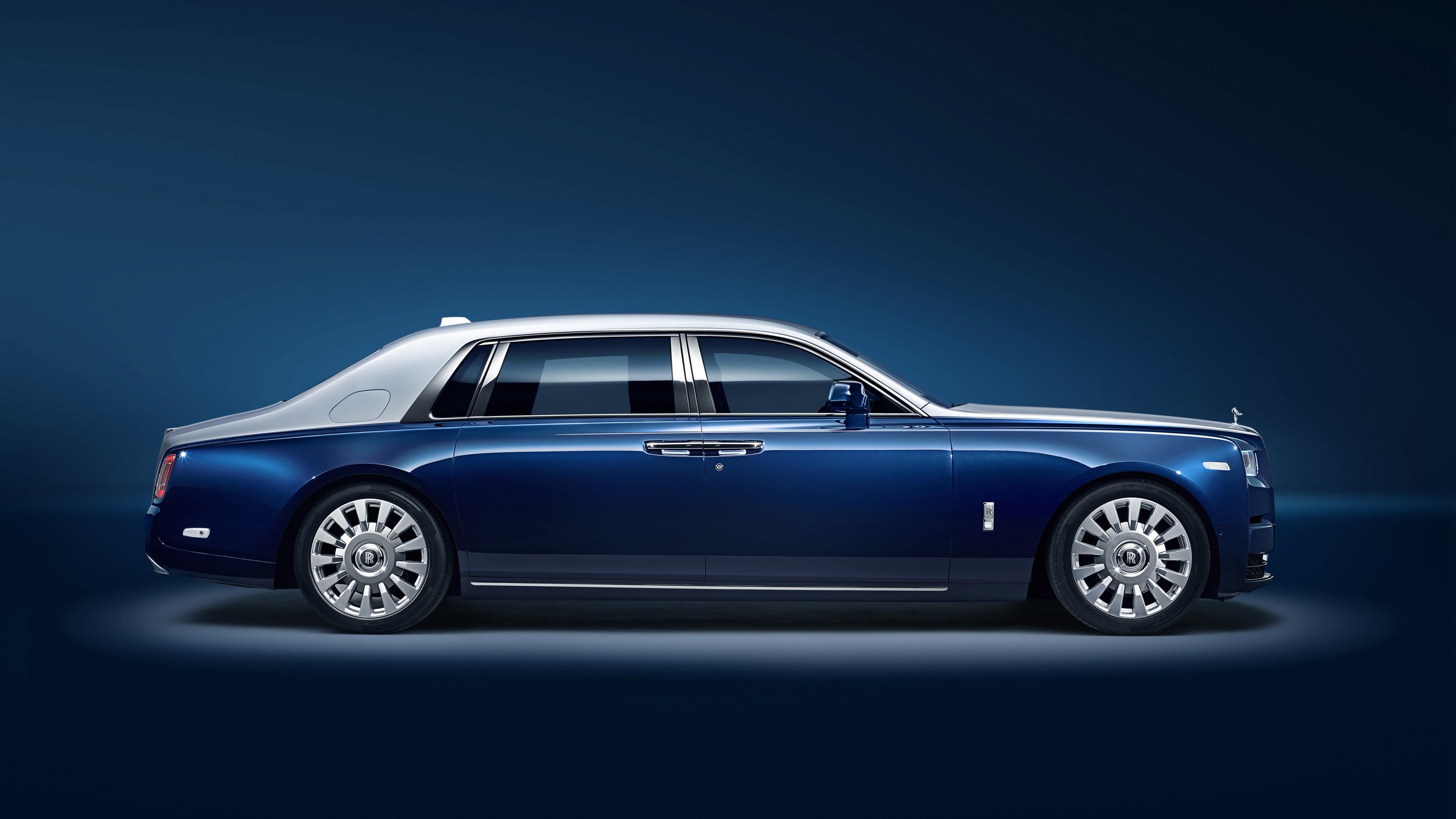 Rolls Royce Phantom Ewb Chengdu 2018 4k Wallpaper Hd Car