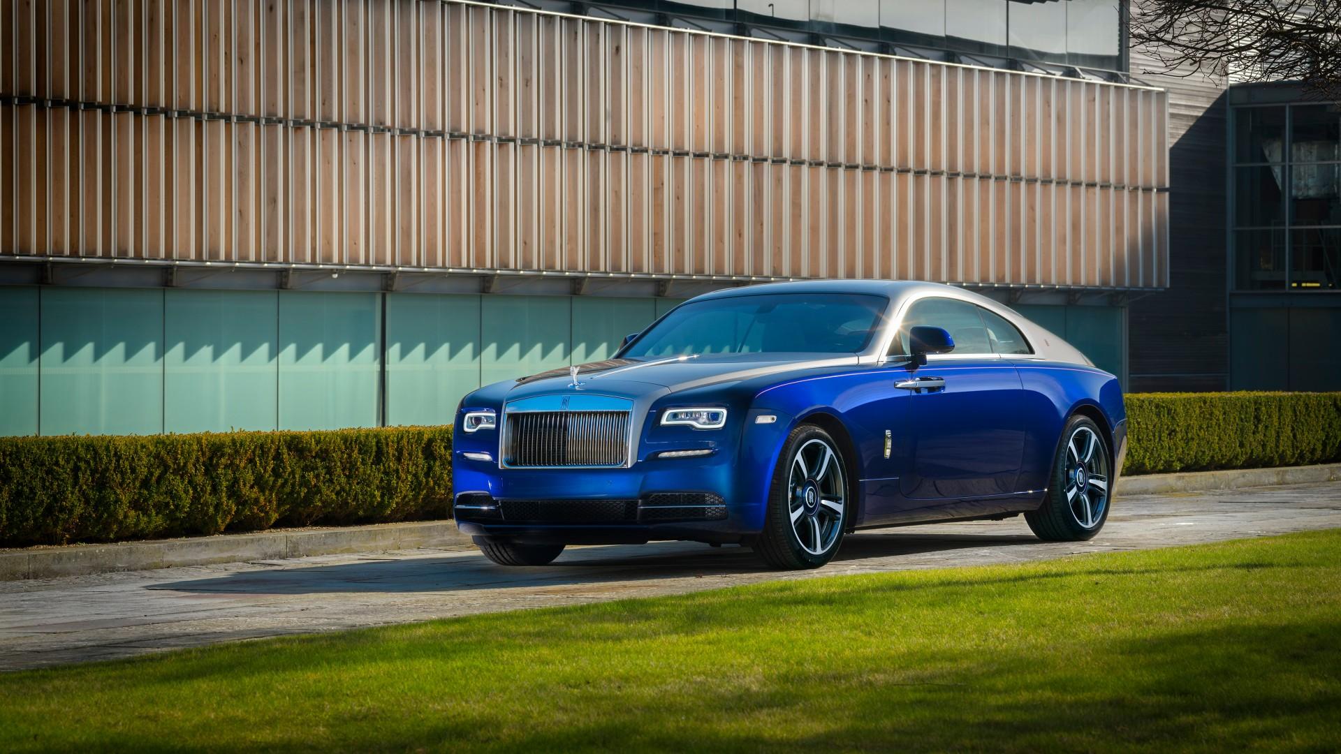 Rolls royce wraith 2017 bespoke 4k wallpaper hd car - Rolls royce wallpaper download ...