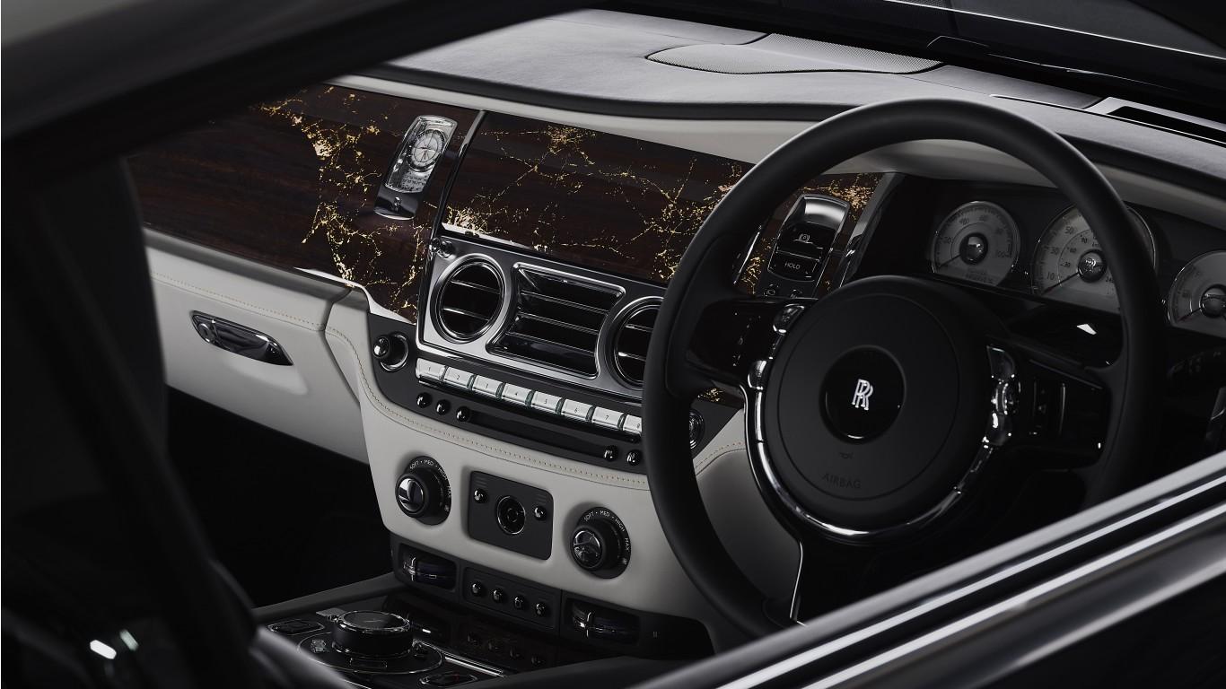 Rolls Royce Wraith Eagle Viii 2019 5k Interior Wallpaper