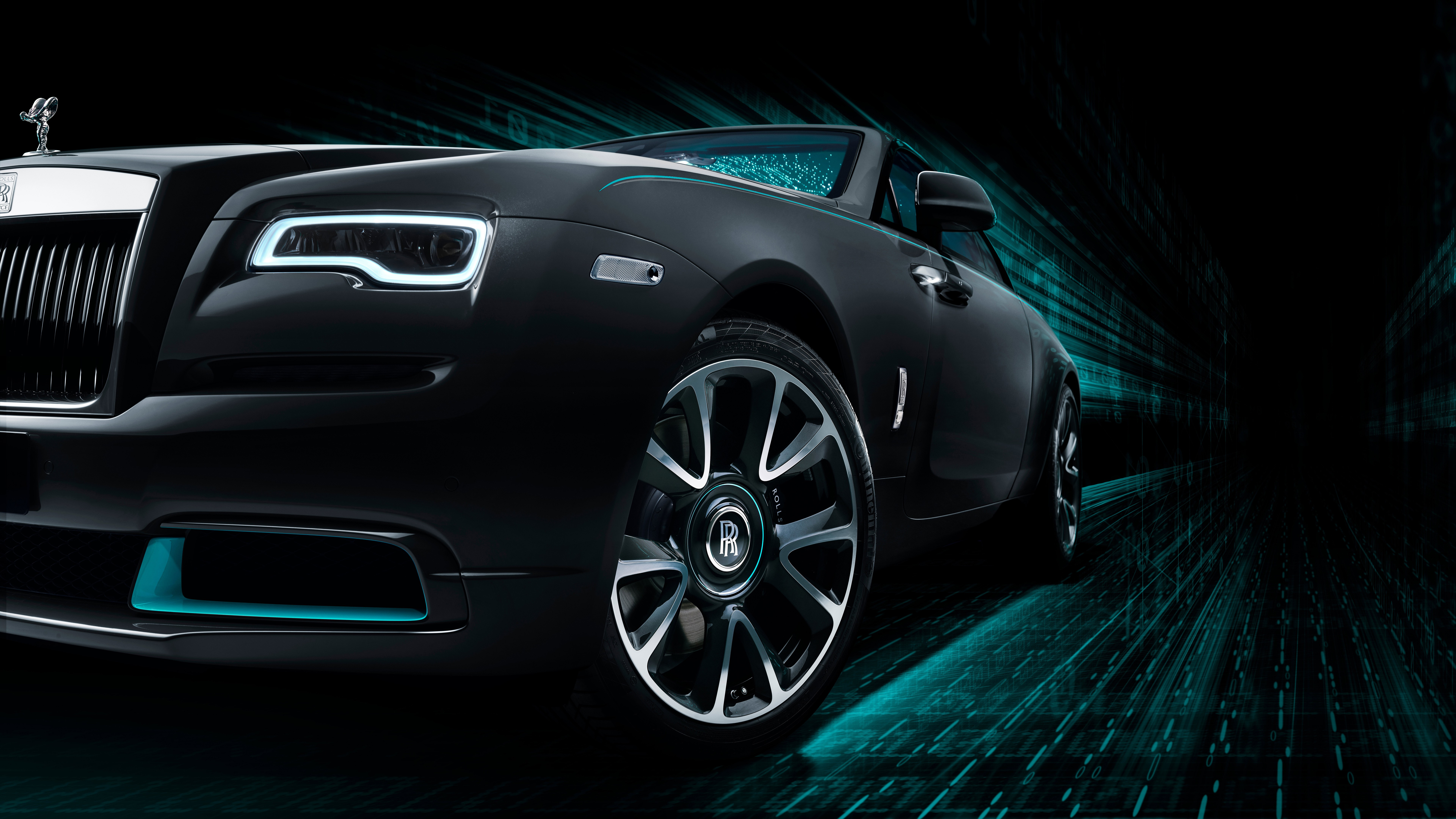 Rolls-Royce Wraith Kryptos Collection 2020 4K 8K Wallpaper ...