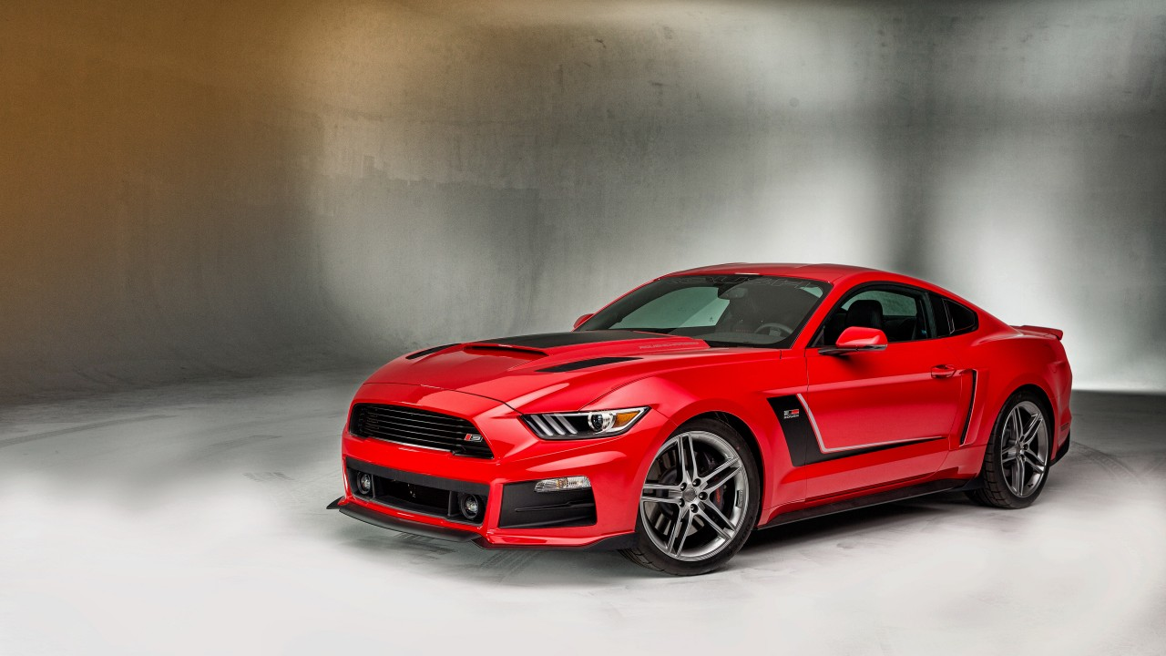 Cars Wallpapers: Roush Ford Mustang RS 2015 Wallpaper
