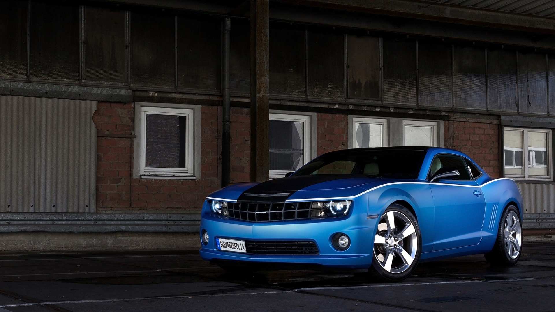 Schwabenfolia Chevrolet Camaro Ss 2013 Wallpaper Hd Car