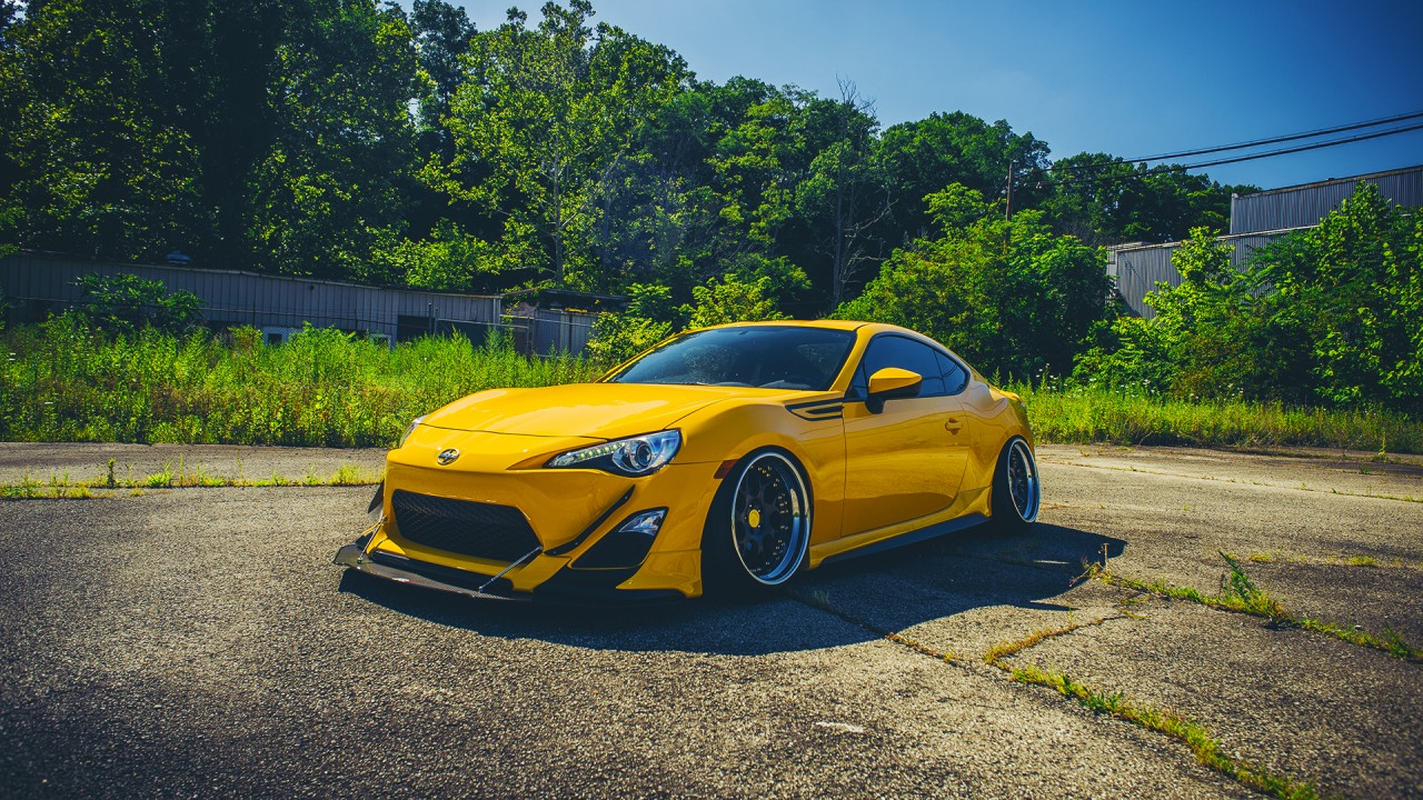 Car Wallpapers Backgrounds Hd: Scion FRS Stance Wallpaper
