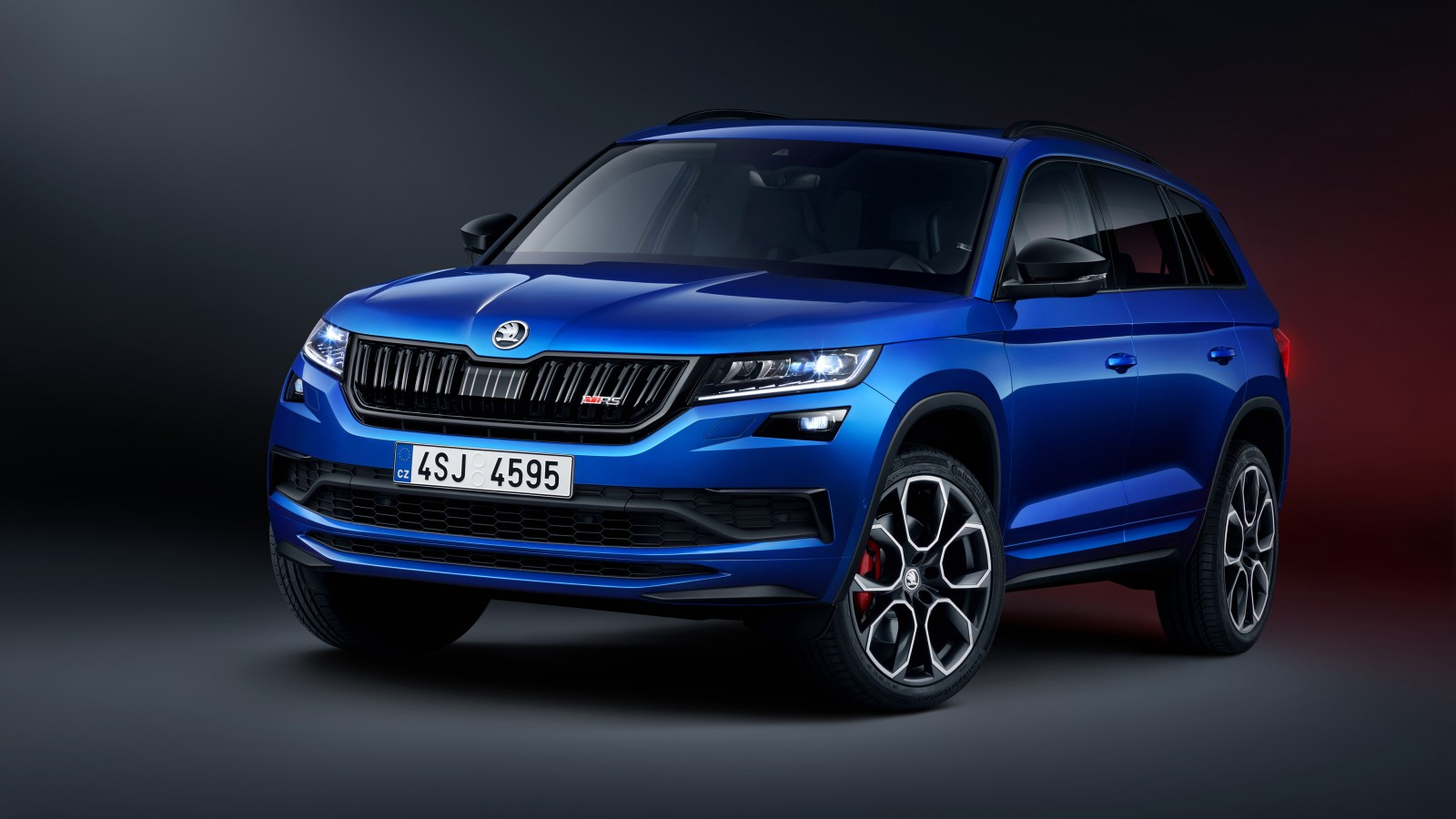 skoda kodiaq rs 2019 4k wallpaper hd car wallpapers id 11333. Black Bedroom Furniture Sets. Home Design Ideas