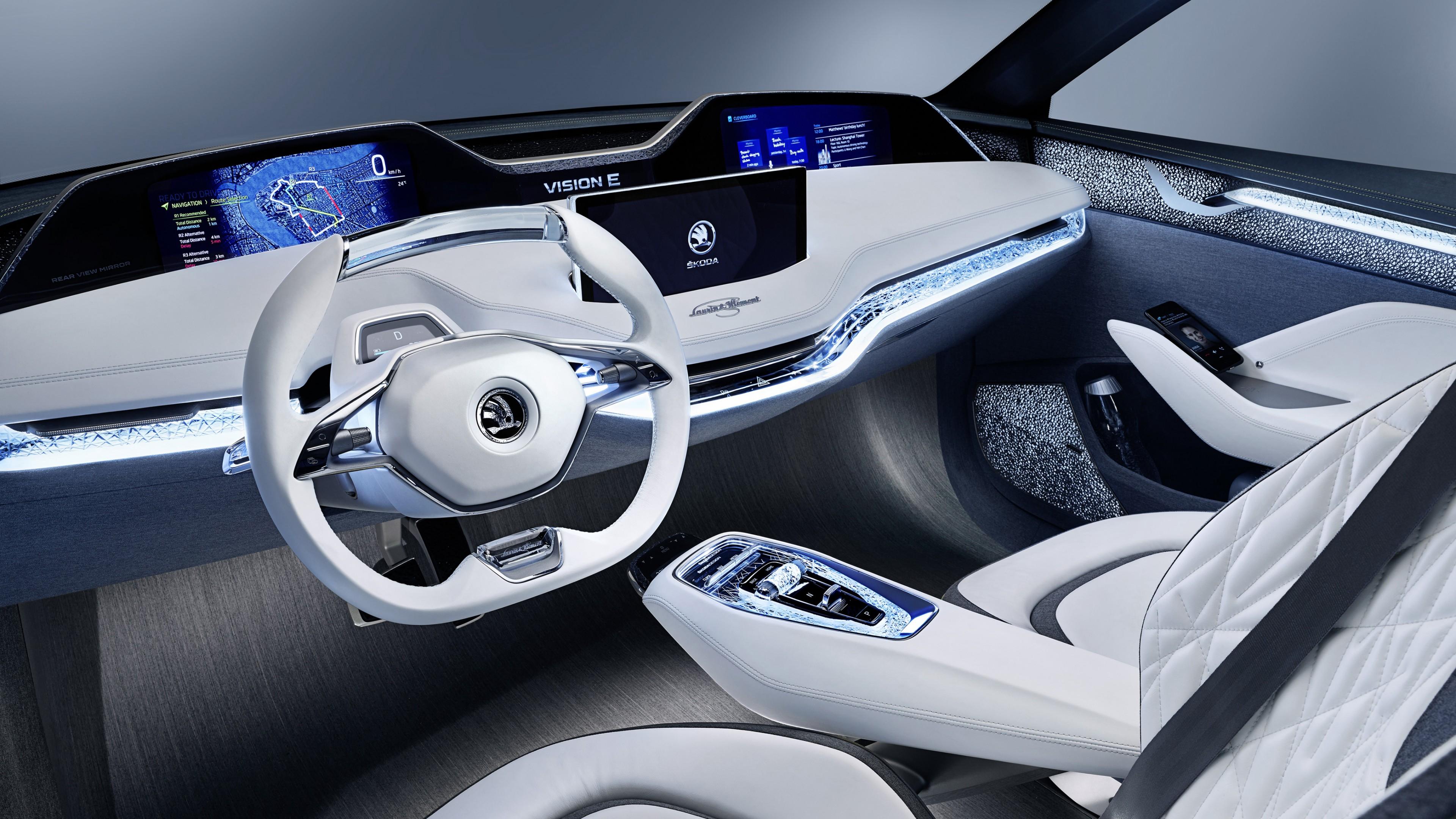 Buick Enclave Interior >> Skoda Vision E Concept 4K Interior Wallpaper | HD Car Wallpapers | ID #8625